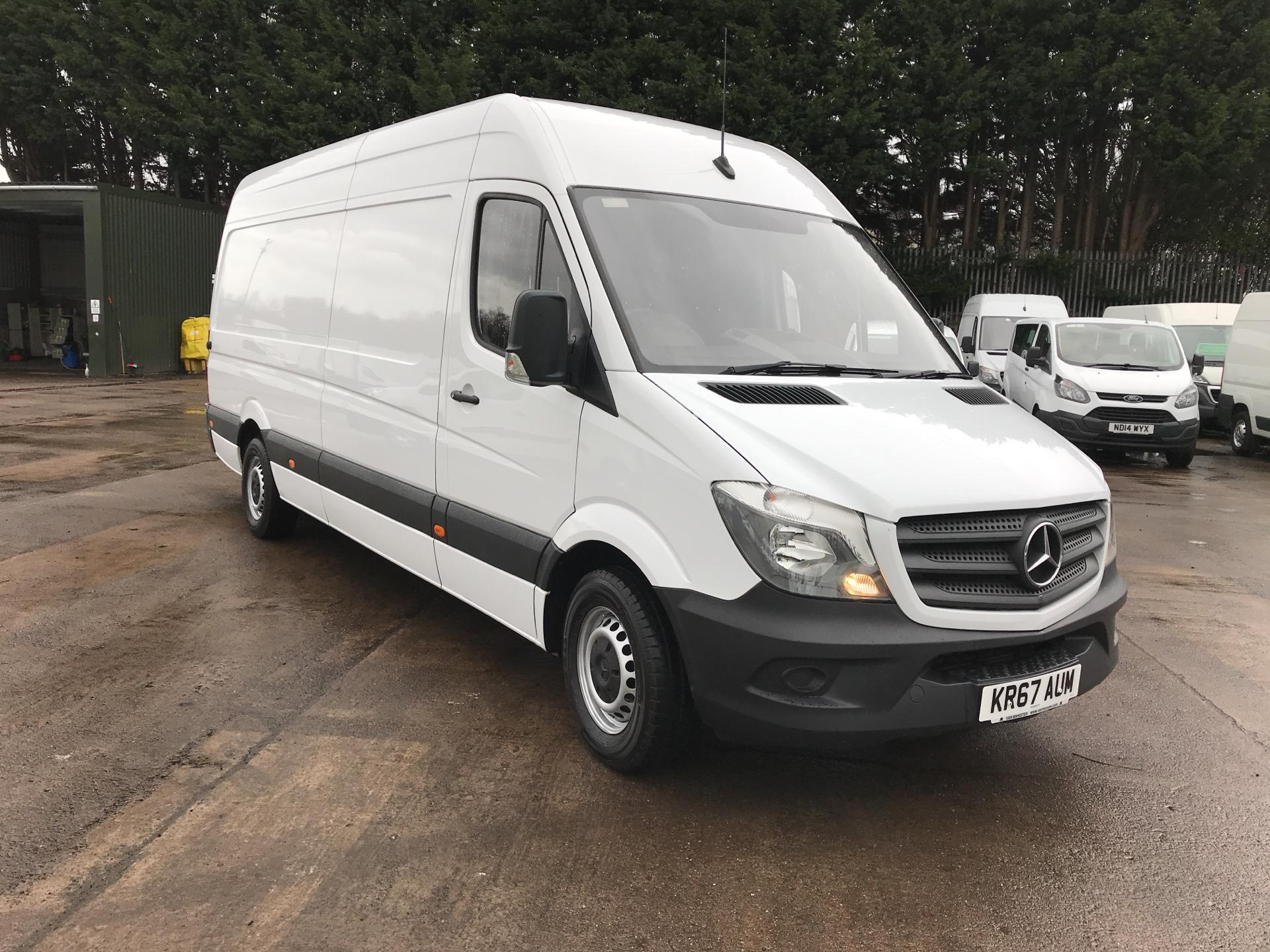 2017 Mercedes-Benz Sprinter 314 CDI LWB HIGH ROOF VAN EURO 6 (KR67AUM)
