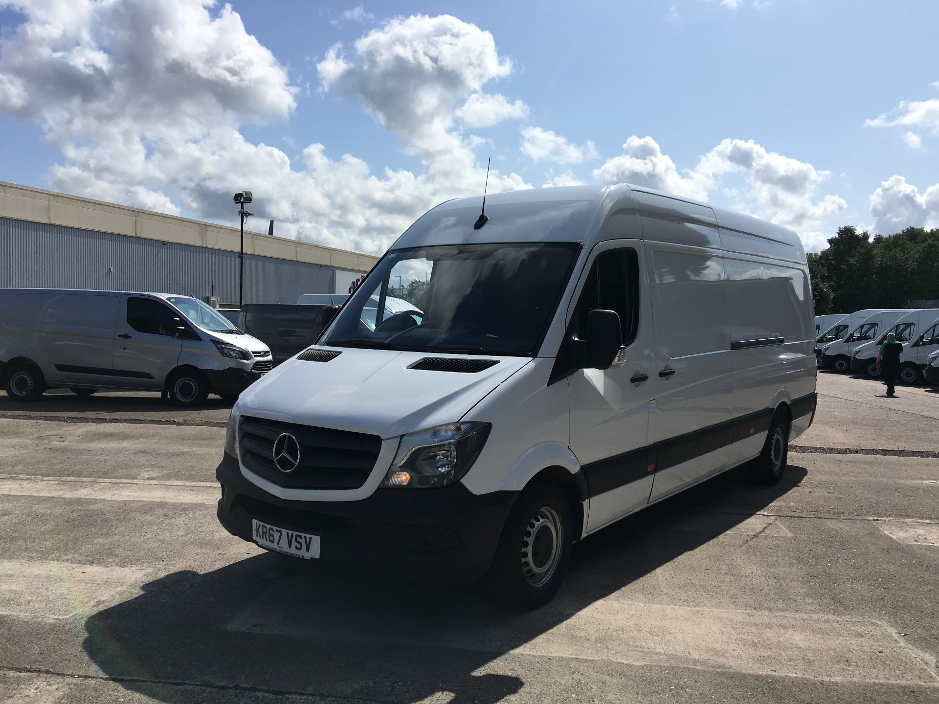 2017 Mercedes-Benz Sprinter 314 CDI LWB HIGH ROOF VAN EURO 6 (KR67VSV) Image 15