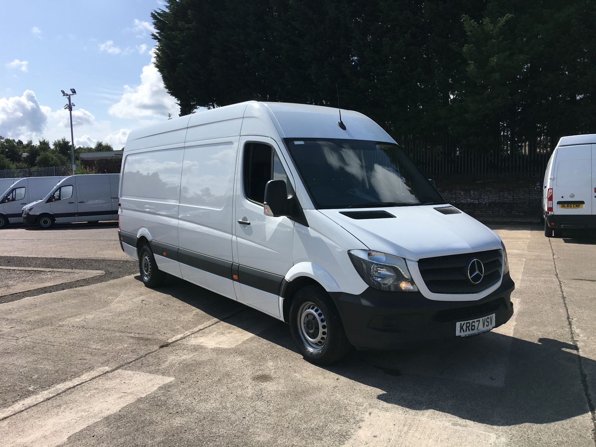 2017 Mercedes-Benz Sprinter 314 CDI LWB HIGH ROOF VAN EURO 6 (KR67VSV) Image 1