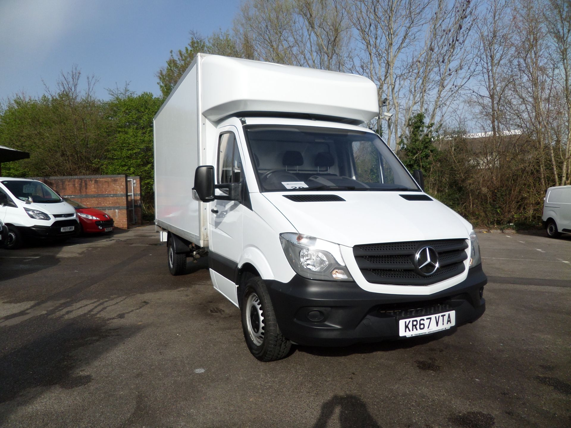 2017 Mercedes-Benz Sprinter 314 cdi Luton Tail Lift Euro 6 (KR67VTA)