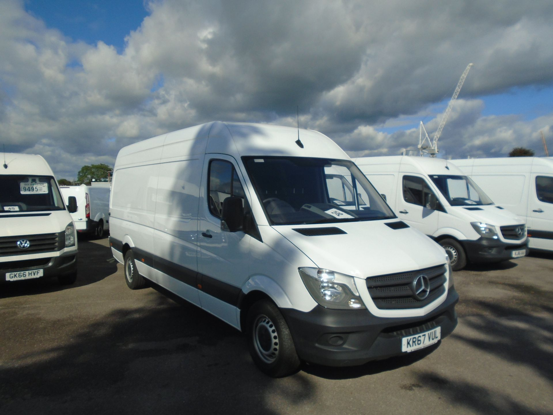2017 Mercedes-Benz Sprinter 3.5T High Roof Van(EURO 6) (KR67VUL)