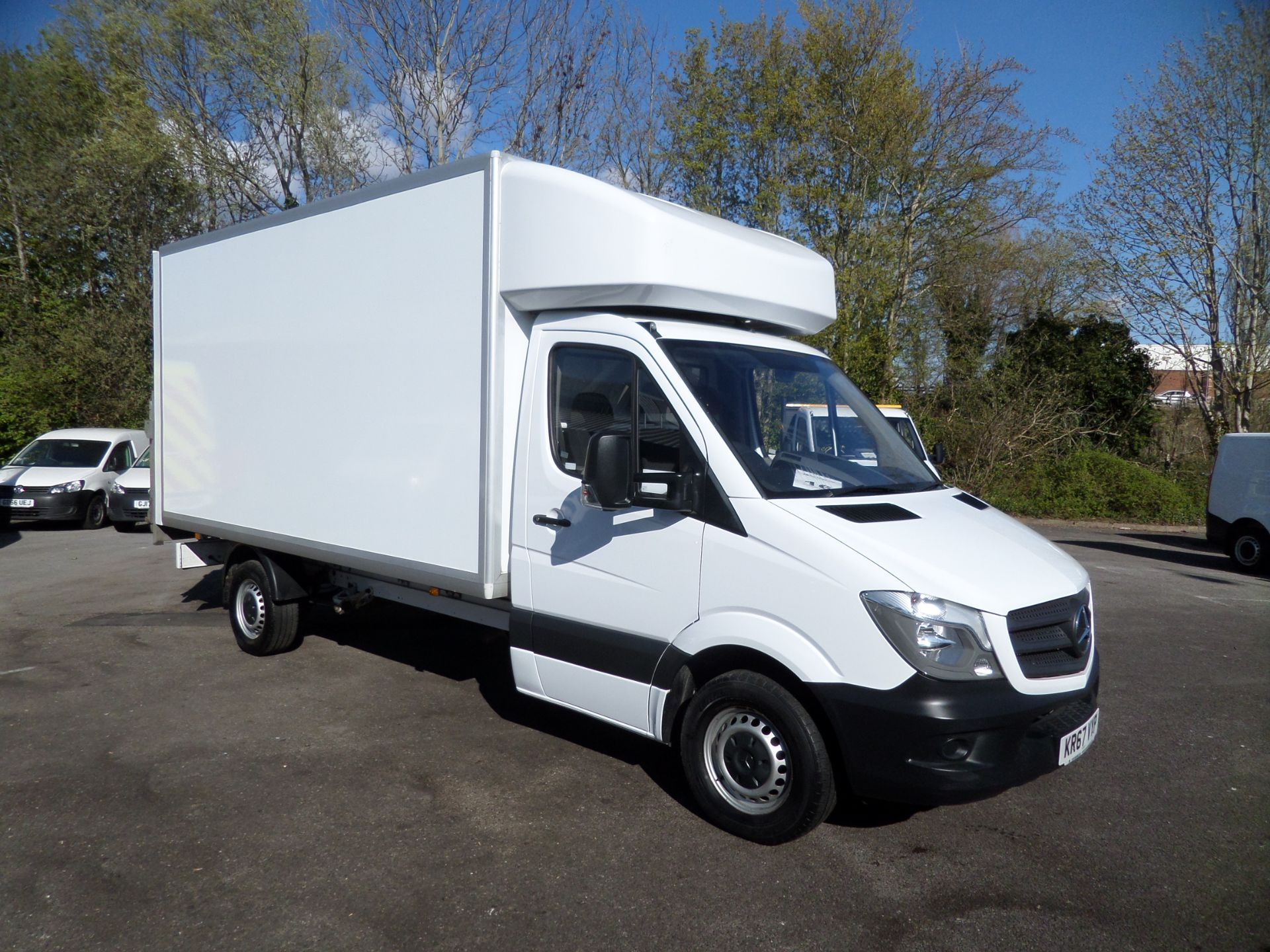 2017 Mercedes-Benz Sprinter 314 cdi Luton Tail Lift Euro 6 (KR67VYP)