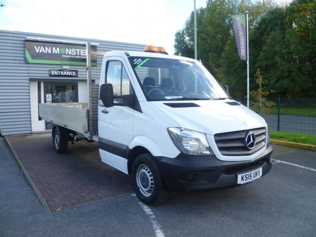 2015 Mercedes-Benz Sprinter 313 LWB DROP SIDE EURO 5 (KS15UKV)