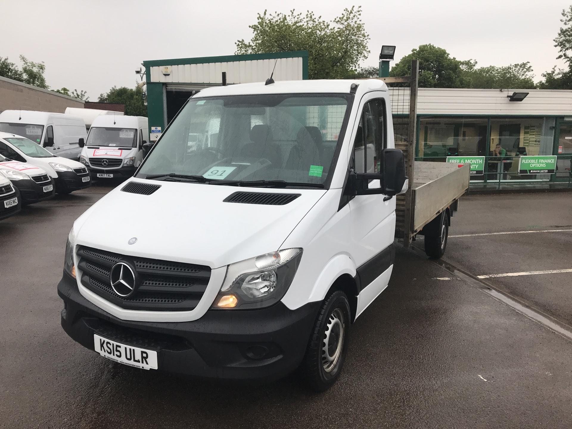 2015 Mercedes-Benz Sprinter  313 LWB DROP SIDE EURO 5 (KS15ULR) Image 7