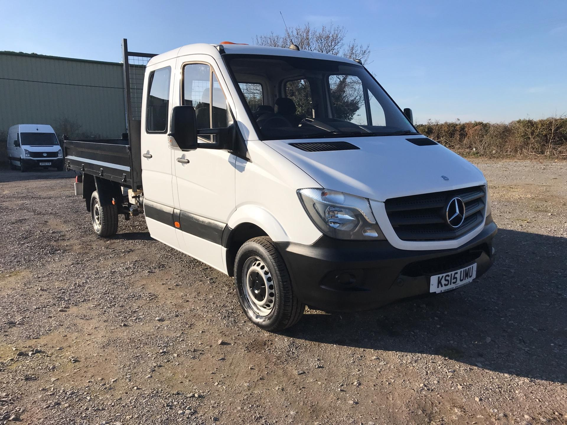 2015 Mercedes-Benz Sprinter LONG C/CAB TIPPER EURO 5 (KS15UMU)