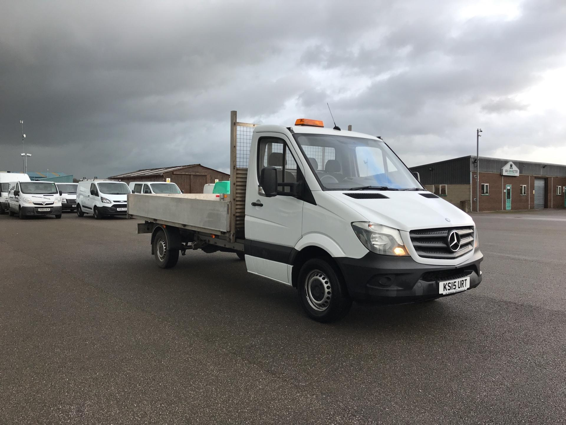 2015 Mercedes-Benz Sprinter 313 LWB DROP SIDE EURO 5 (KS15URT)