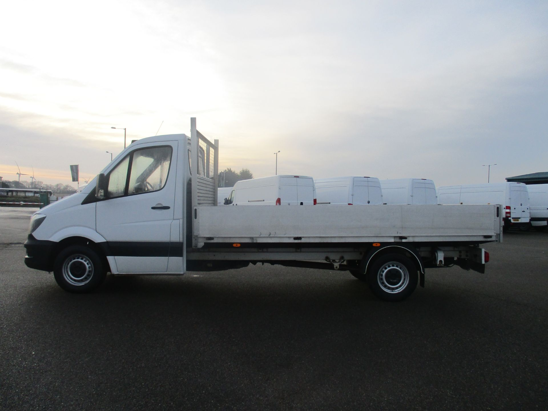 2015 Mercedes-Benz Sprinter 313 LWB DROP SIDE EURO 5 (KS15UTA) Image 8