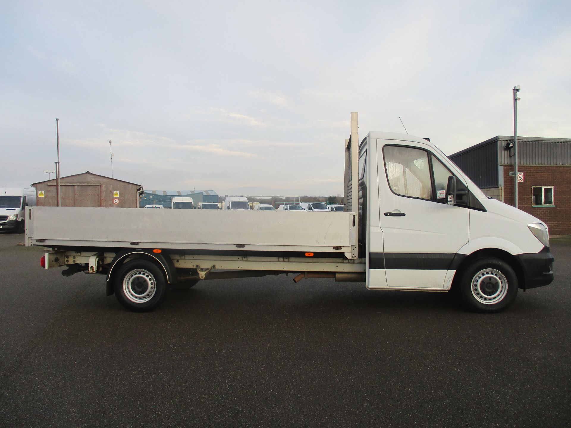 2015 Mercedes-Benz Sprinter 313 LWB DROP SIDE EURO 5 (KS15UTA) Image 4