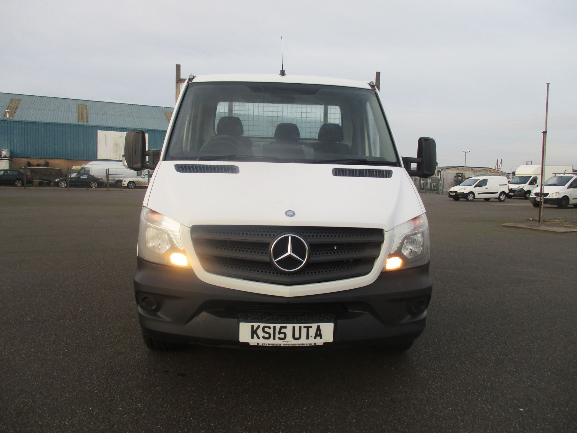 2015 Mercedes-Benz Sprinter 313 LWB DROP SIDE EURO 5 (KS15UTA) Thumbnail 2