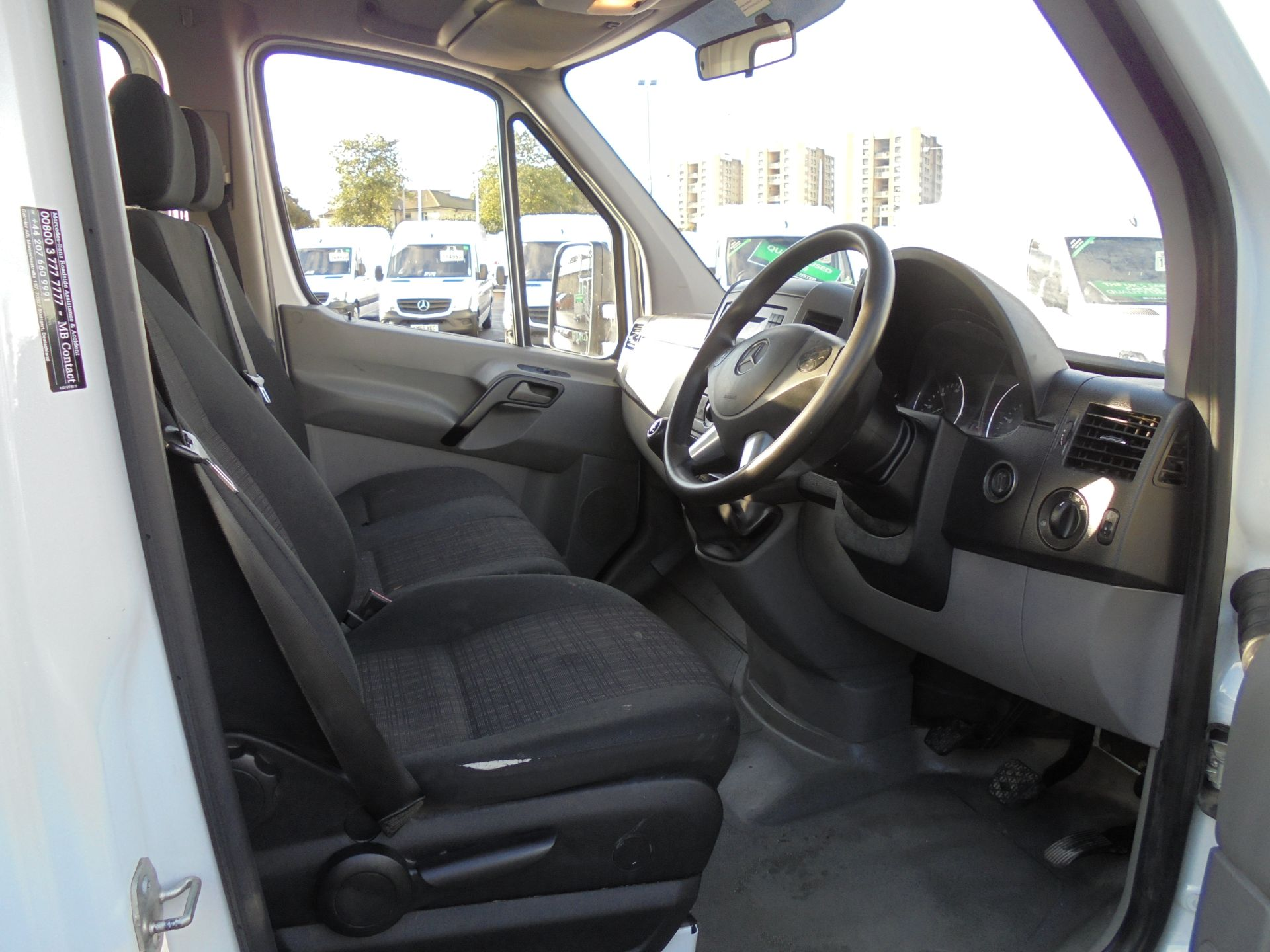 2016 Mercedes-Benz Sprinter 3.5T Crew Cab 313 7 Seater Dropside (KS16VWP) Image 9