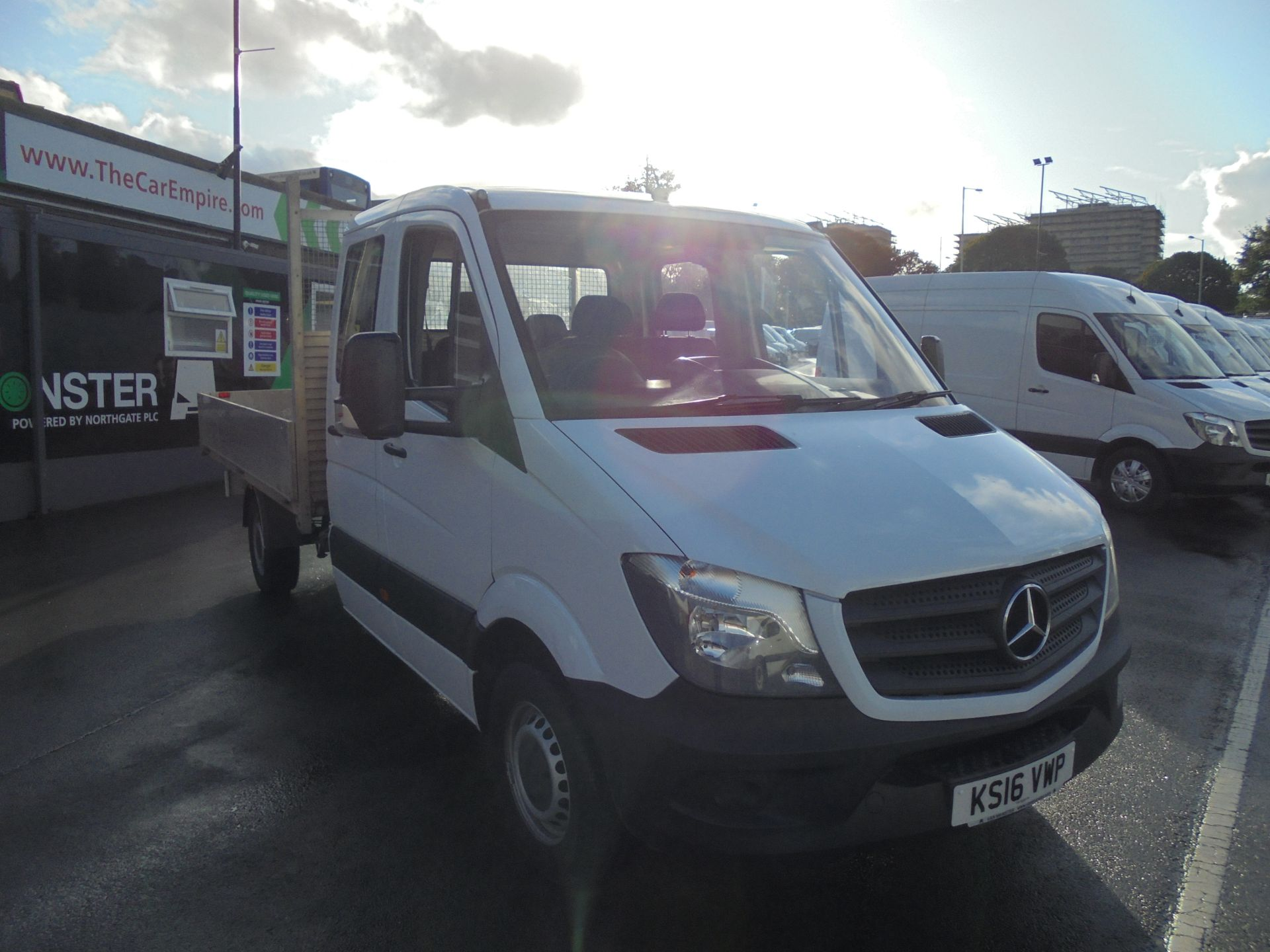 2016 Mercedes-Benz Sprinter 3.5T Crew Cab 313 7 Seater Dropside (KS16VWP)