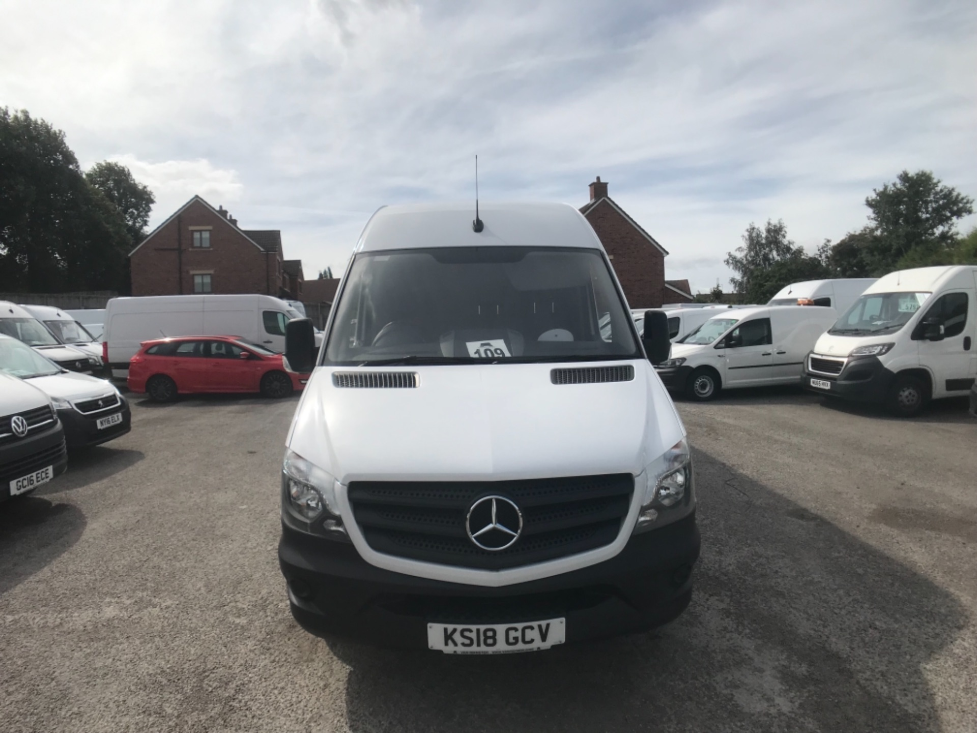 2018 Mercedes-Benz Sprinter  314 LWB H/R VAN EURO 6 (KS18GCV) Image 2