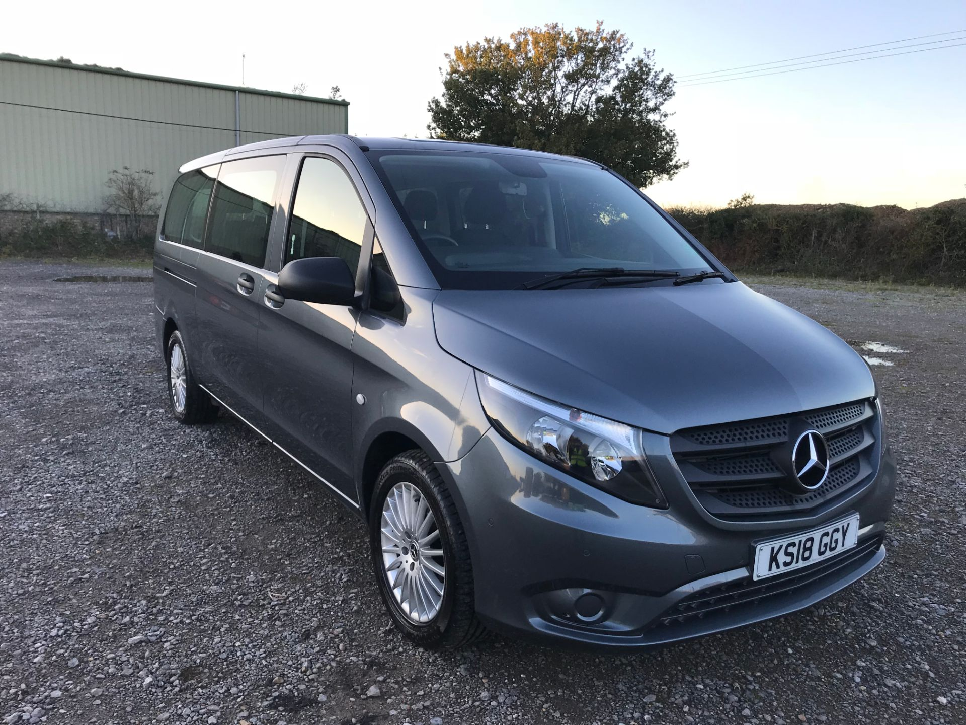 2018 Mercedes-Benz Vito 119 Bluetec Tourer Select (KS18GGY)