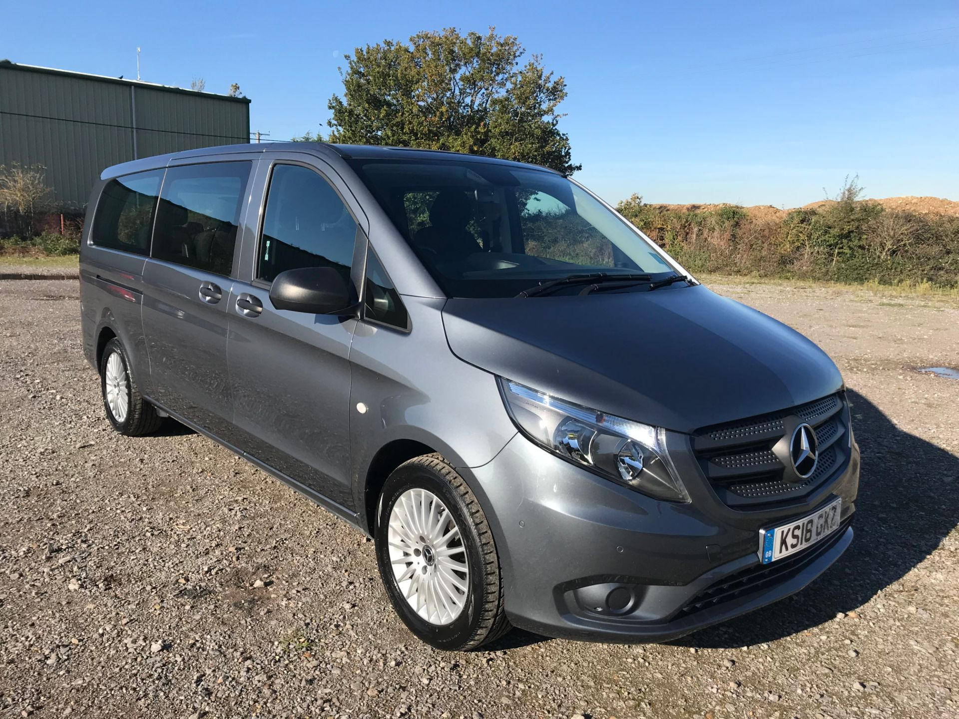 2018 Mercedes-Benz Vito 119 Bluetec Tourer Select (KS18GKZ) Thumbnail 1