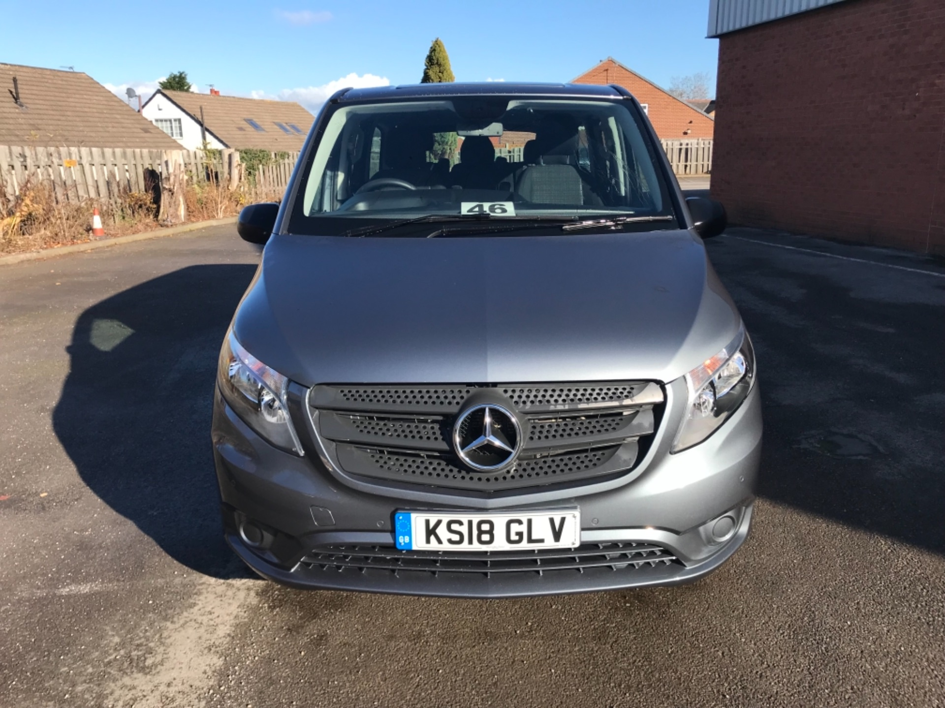 2018 Mercedes-Benz Vito 119 Bluetec Tourer Select 8 Seater (KS18GLV) Image 2