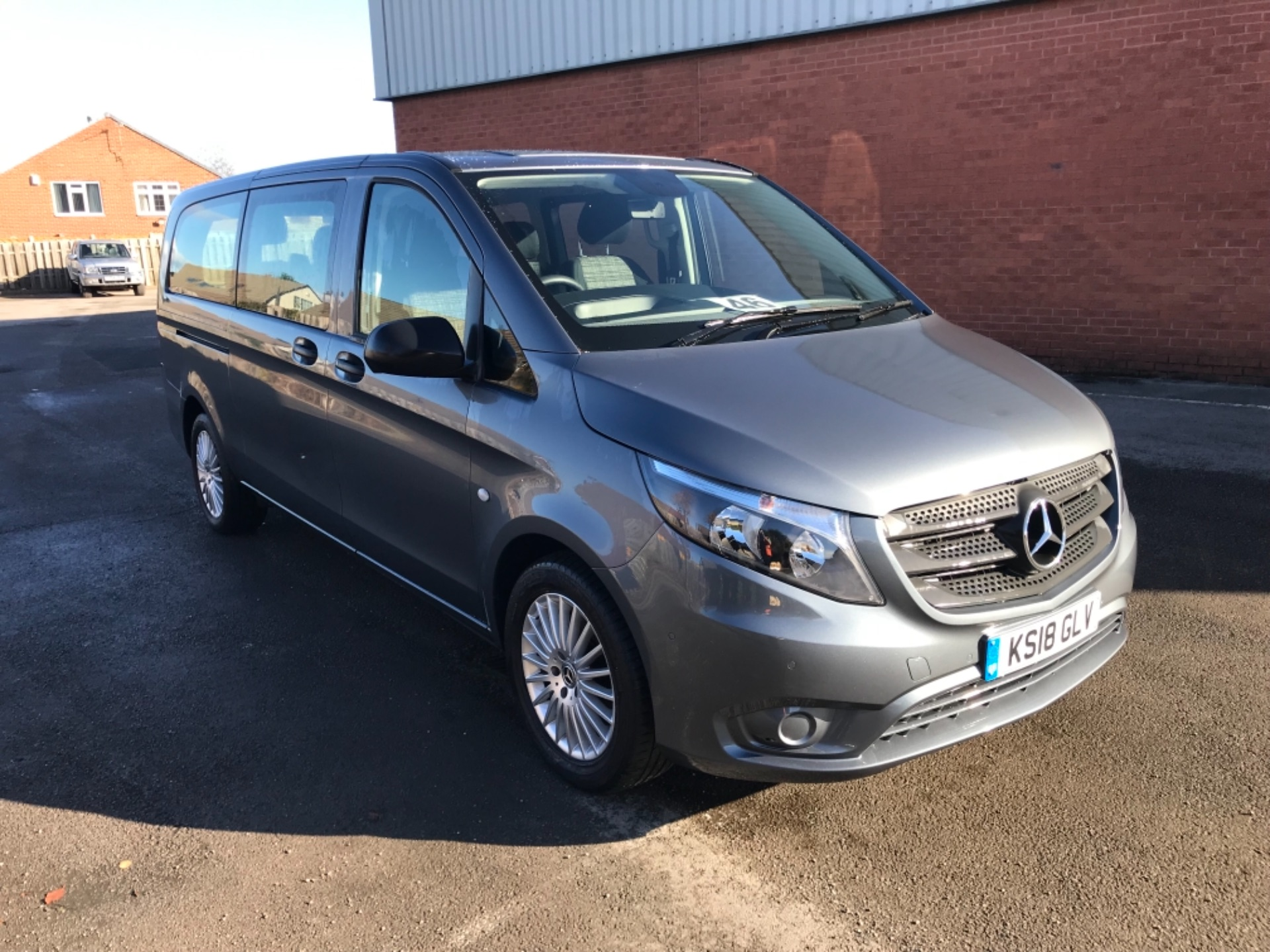 2018 Mercedes-Benz Vito 119 Bluetec Tourer Select 8 Seater (KS18GLV)