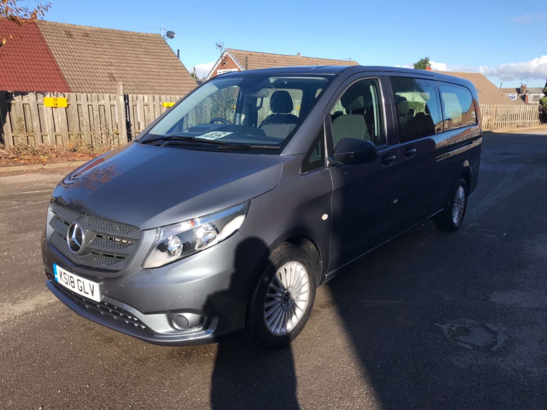 2018 Mercedes-Benz Vito 119 Bluetec Tourer Select 8 Seater (KS18GLV) Image 3