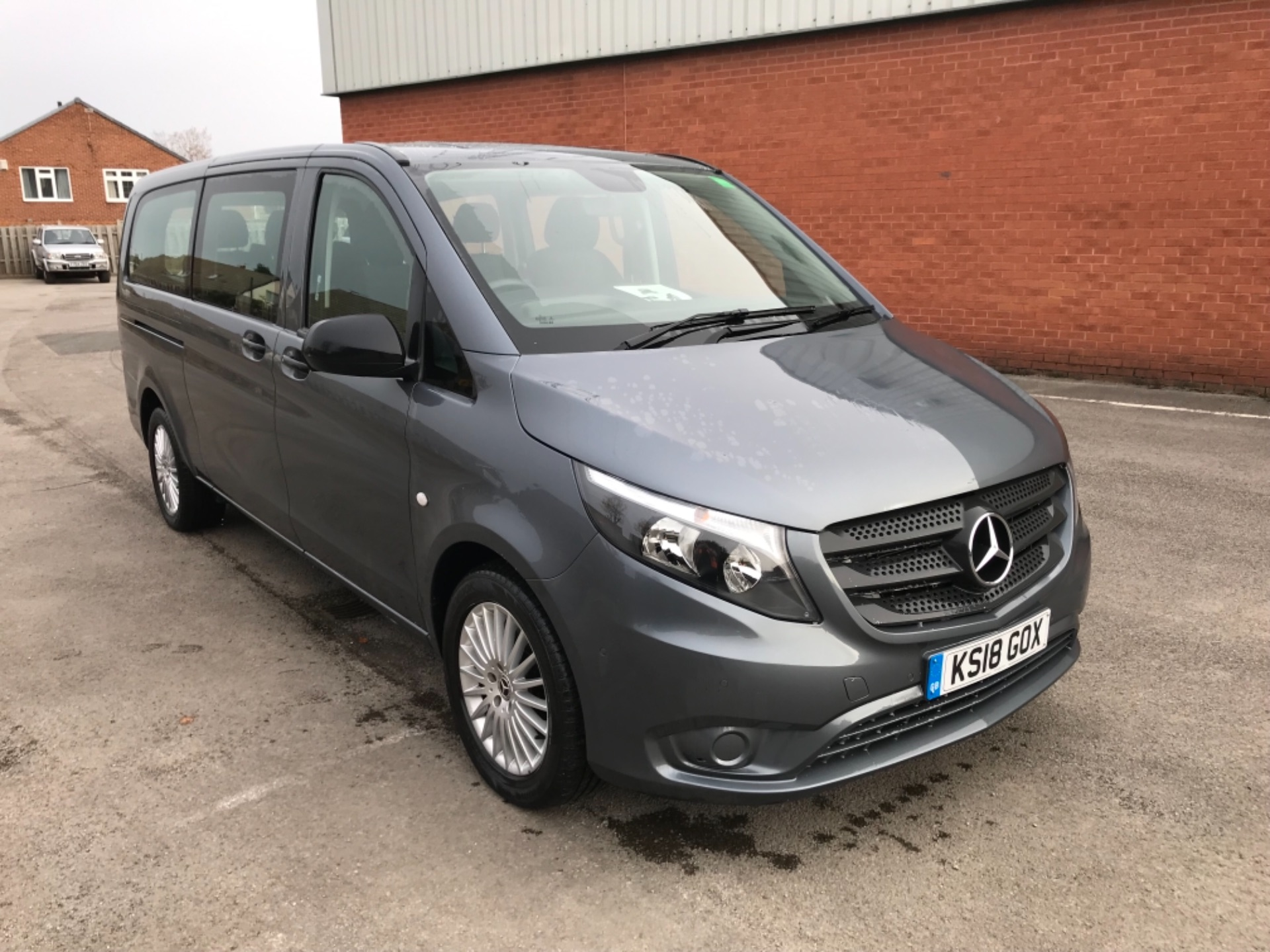 2018 Mercedes-Benz Vito 119 Bluetec Tourer Select 8 Seater (KS18GOX)