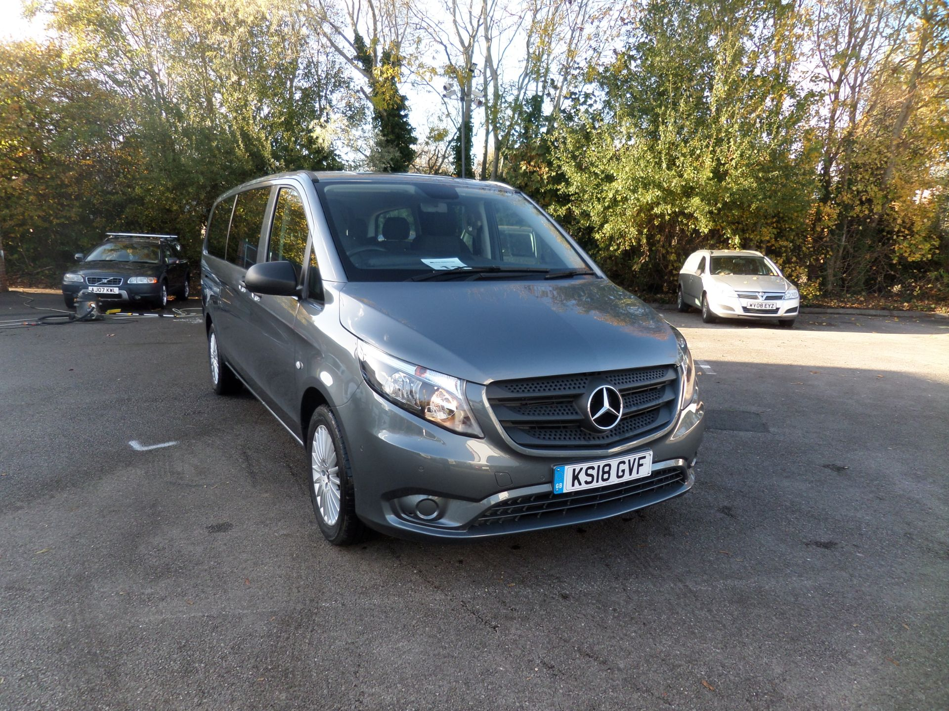 2018 Mercedes-Benz Vito 119 Bluetec Tourer Select 8 Seats Euro 6 (KS18GVF)