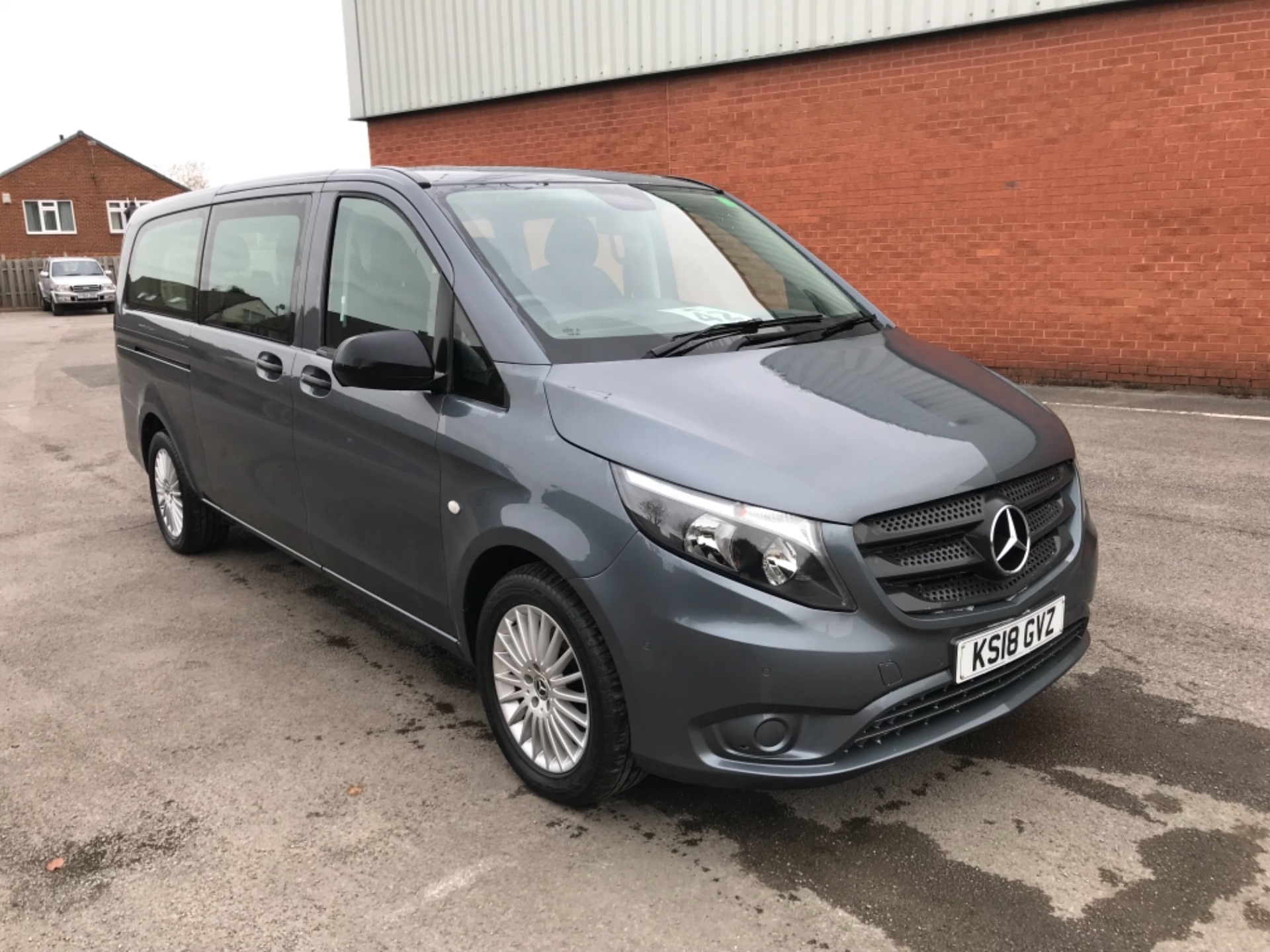 2018 Mercedes-Benz Vito 119 Bluetec Tourer Select 8 Seater (KS18GVZ)