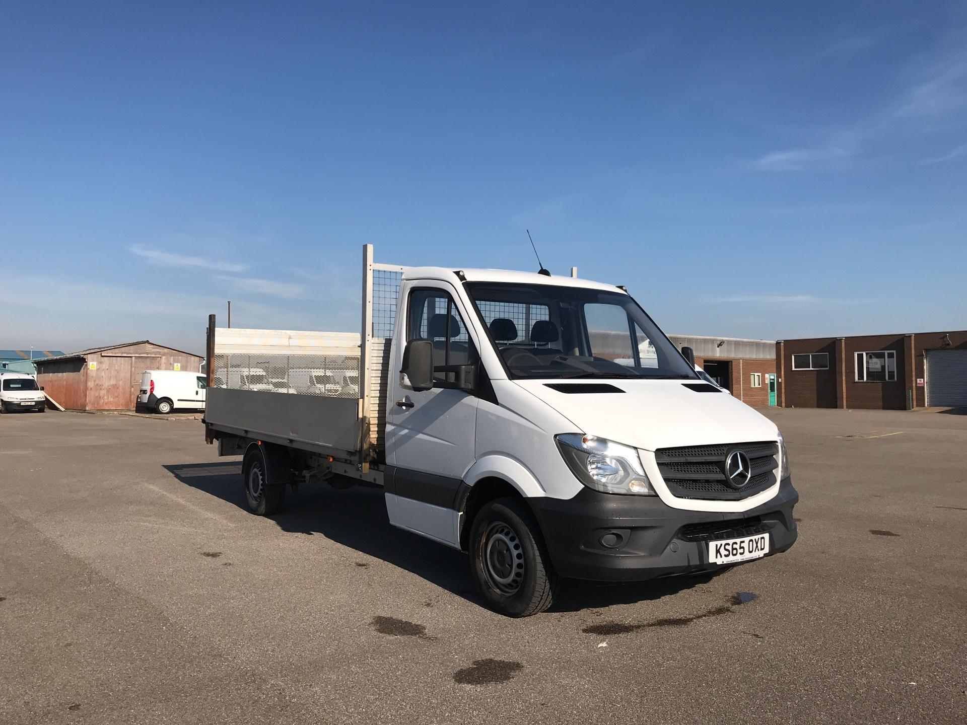 2016 Mercedes-Benz Sprinter 313 LWB DROPSIDE EURO 5 WITH TAIL LIFT (KS65OXD)