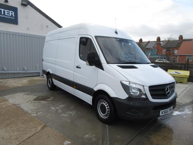 2016 Mercedes-Benz Sprinter   313 MWB H/R EURO 5 COMPLETE WITH  TOW BAR (KS65PBU)