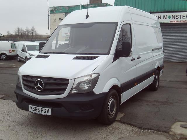 2016 Mercedes-Benz Sprinter 313cdi mwb High Roof 130ps (KS65PGV) Image 2