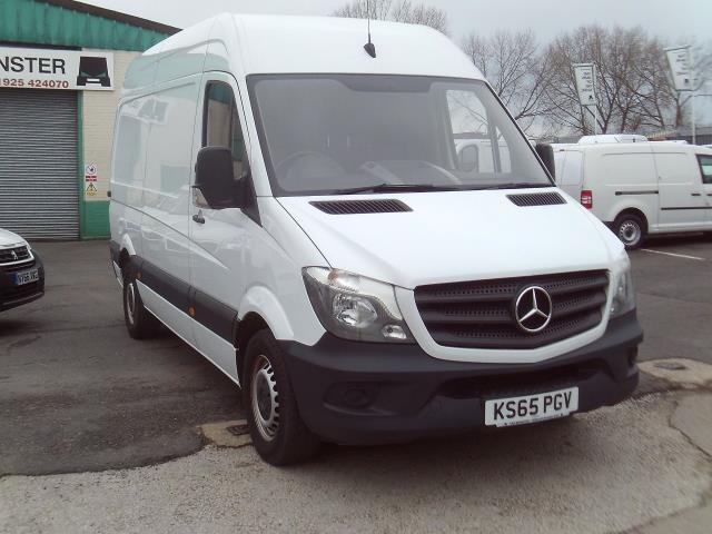 2016 Mercedes-Benz Sprinter 313cdi mwb High Roof 130ps (KS65PGV) Image 1