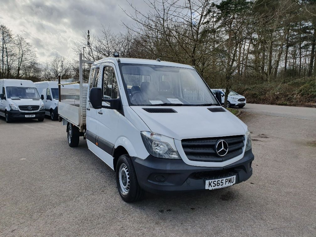 2016 Mercedes-Benz Sprinter  313 LWB DROP SIDE EURO 5 (KS65PMU)