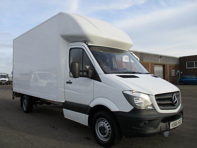 2016 Mercedes-Benz Sprinter 314 CDI LWB 3.5T BLUE EFFICIENCY LUTON VAN WITH TAIL LIFT (KS66HDE)