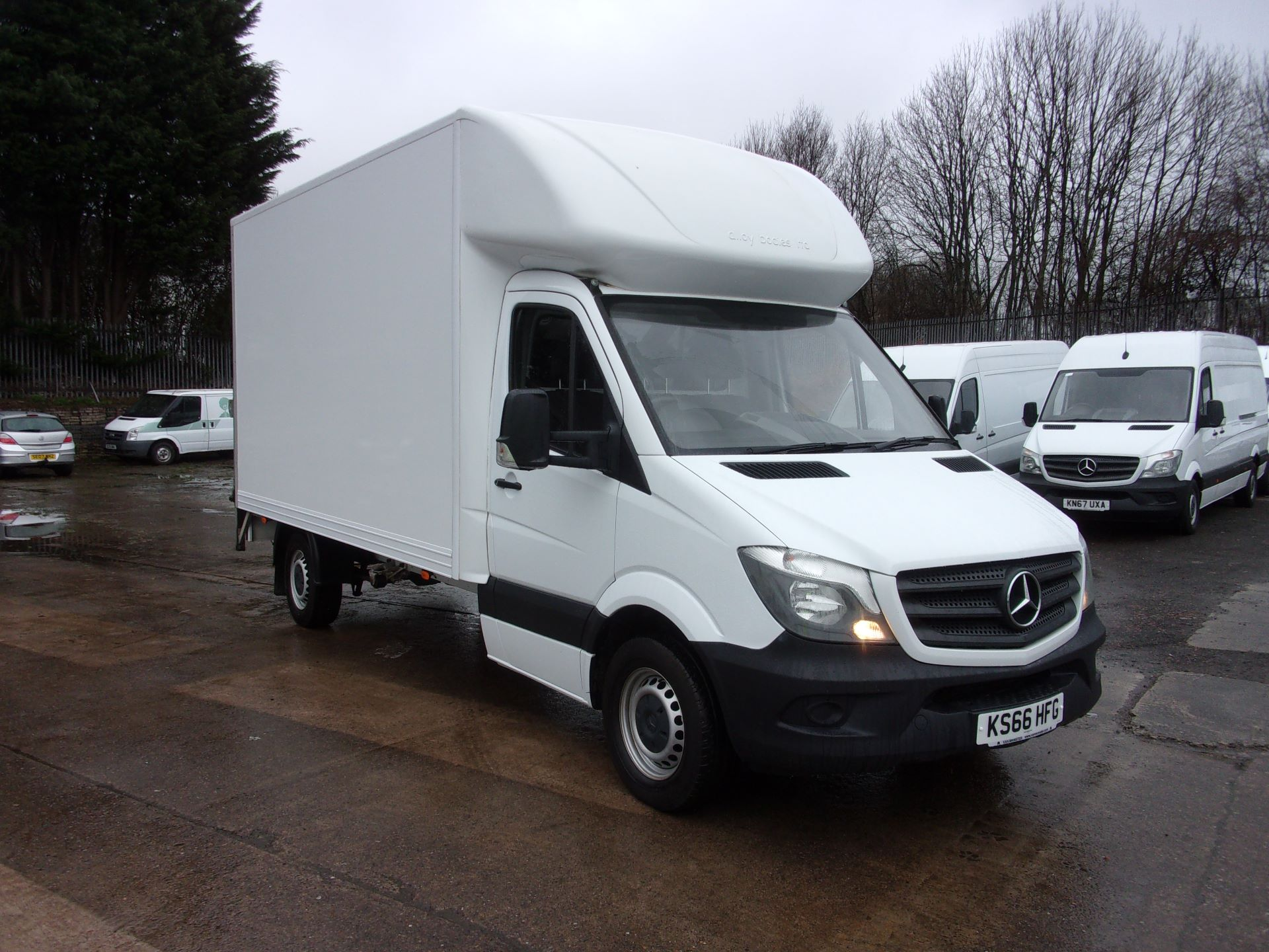 2016 Mercedes-Benz Sprinter 314 CDI LWB LUTON TAIL LIFT EURO 6 (KS66HFG)