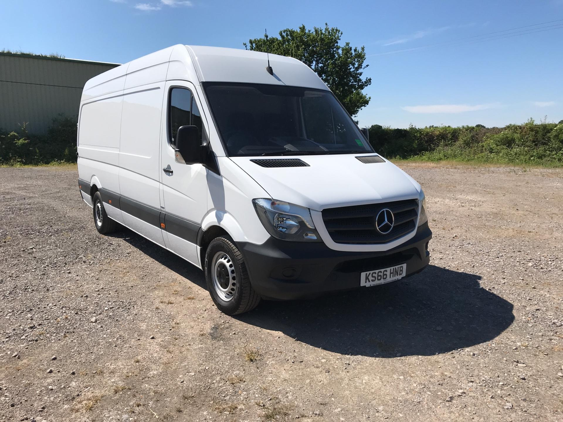 2016 Mercedes-Benz Sprinter 313 3.5T LWB Euro 6 (KS66HNB)