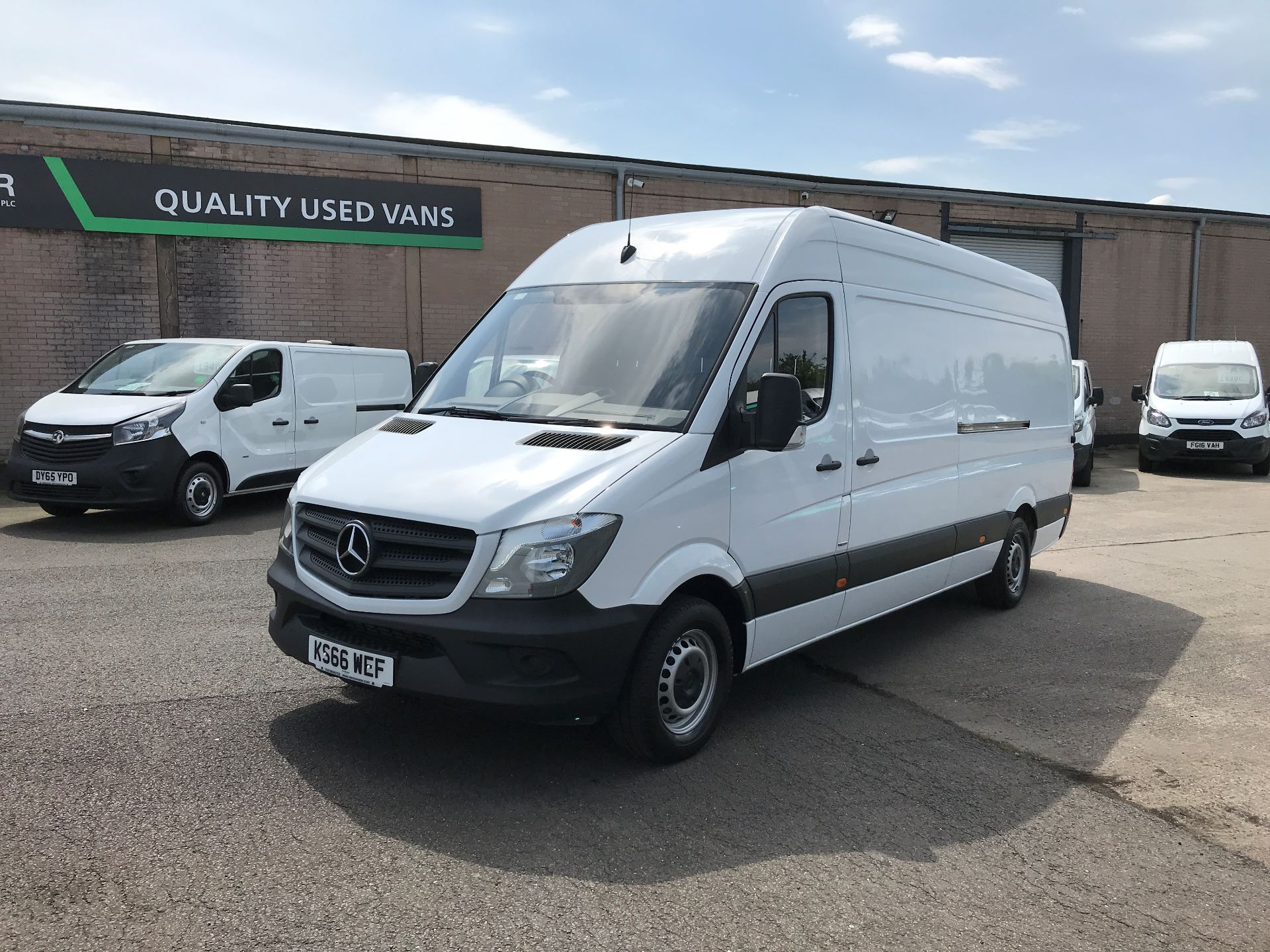 2016 Mercedes-Benz Sprinter 314CDI LWB HIGH ROOF 140PS EURO 6 (KS66WEF) Image 9