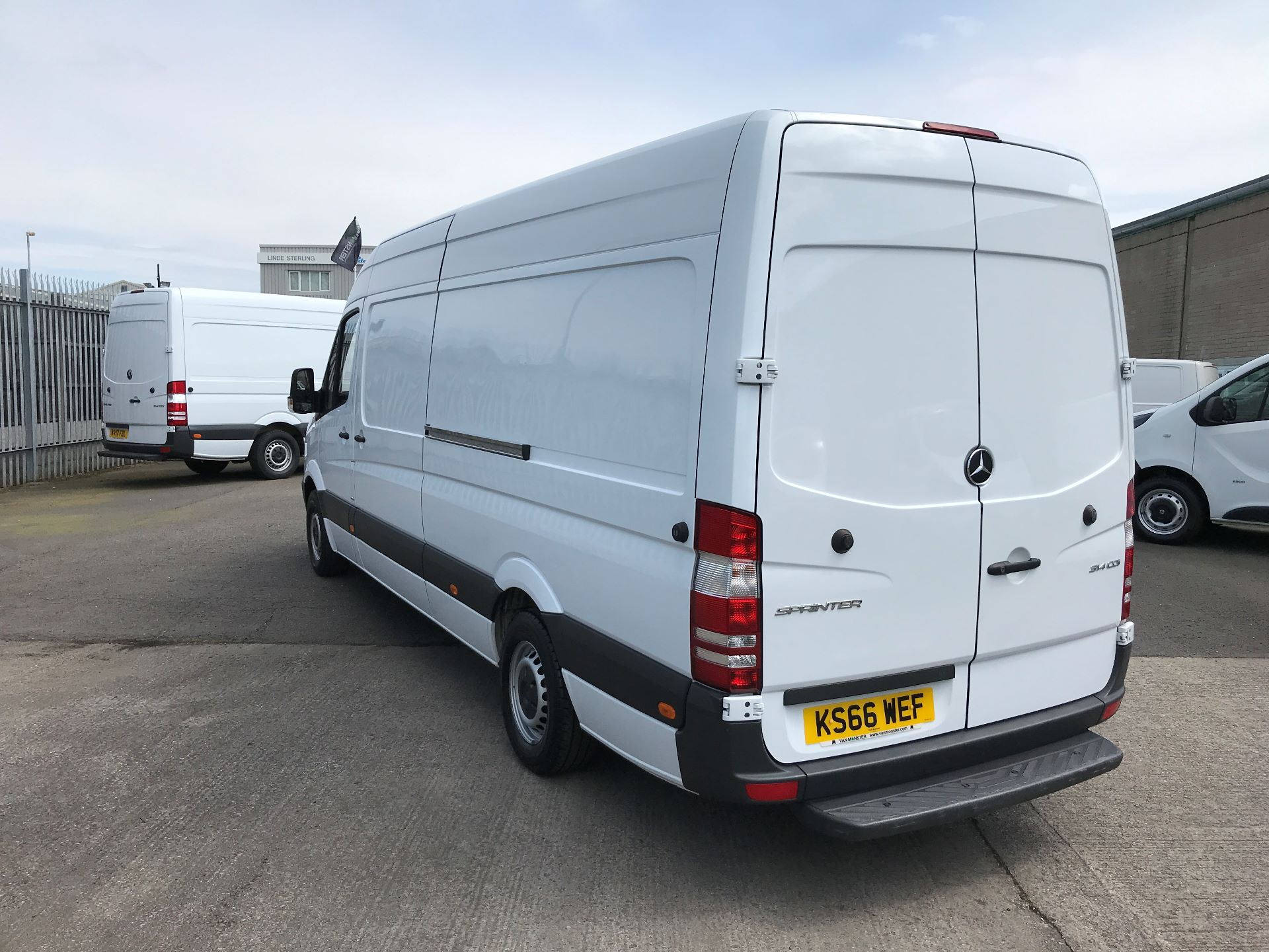 2016 Mercedes-Benz Sprinter 314CDI LWB HIGH ROOF 140PS EURO 6 (KS66WEF) Image 6