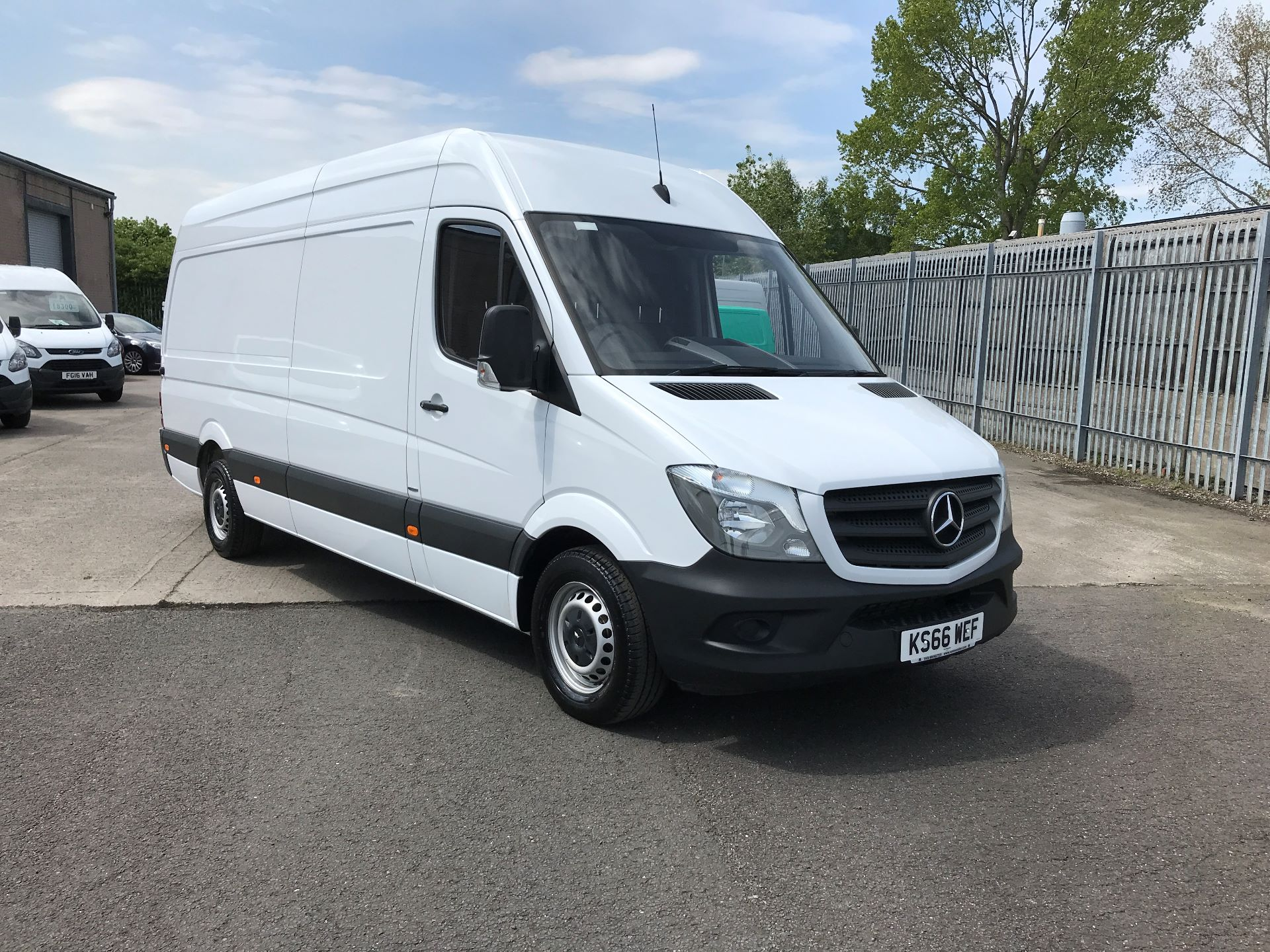 2016 Mercedes-Benz Sprinter 314CDI LWB HIGH ROOF 140PS EURO 6 (KS66WEF)