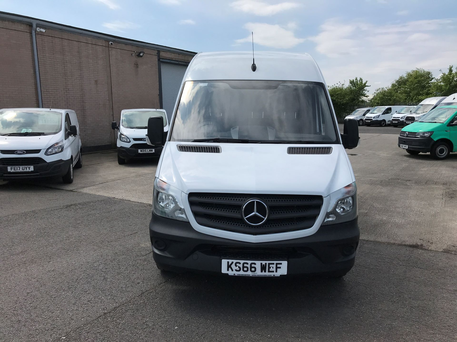 2016 Mercedes-Benz Sprinter 314CDI LWB HIGH ROOF 140PS EURO 6 (KS66WEF) Image 10
