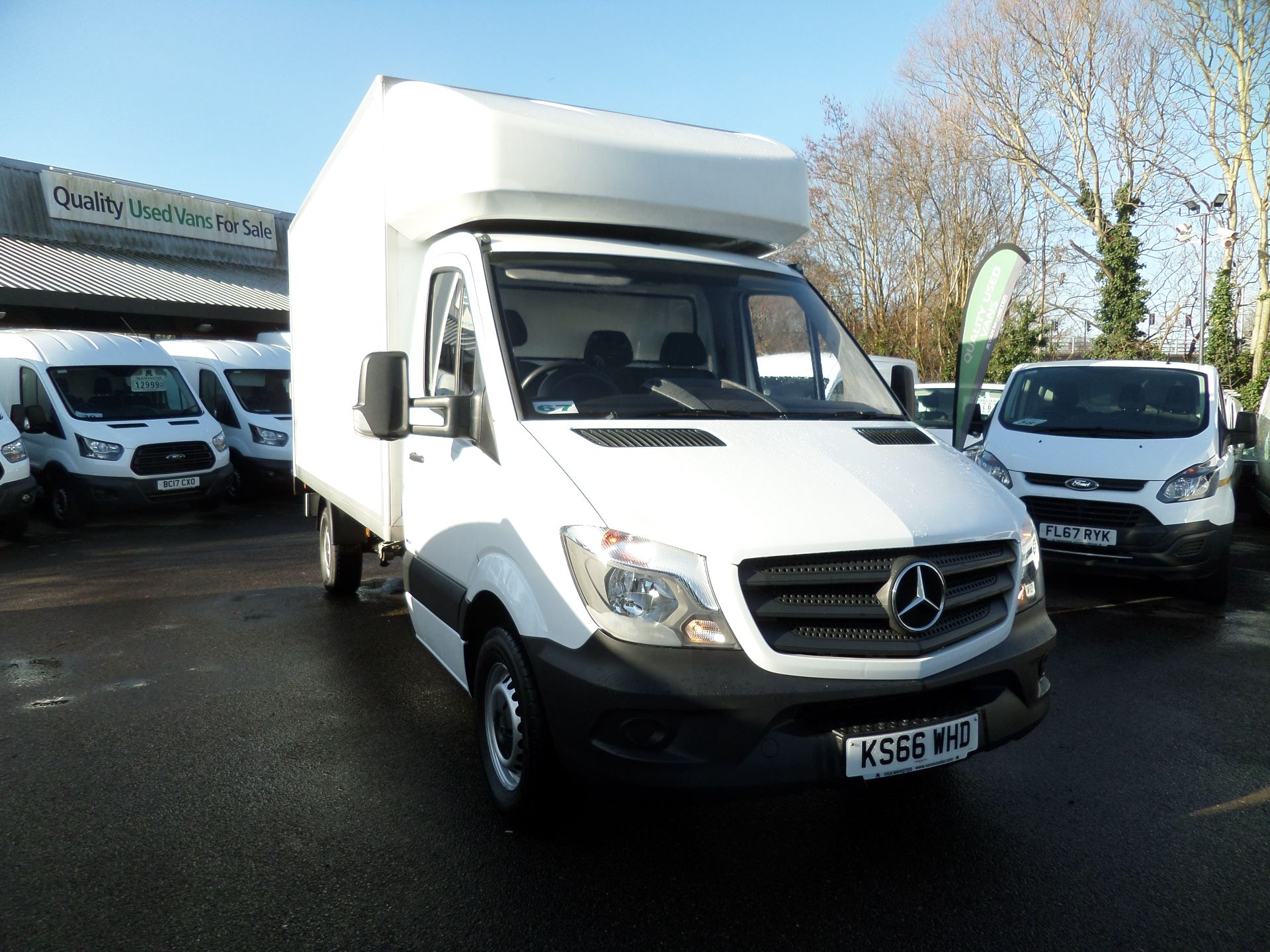 2016 Mercedes-Benz Sprinter 314 Luton Taillift Euro 6 (KS66WHD)