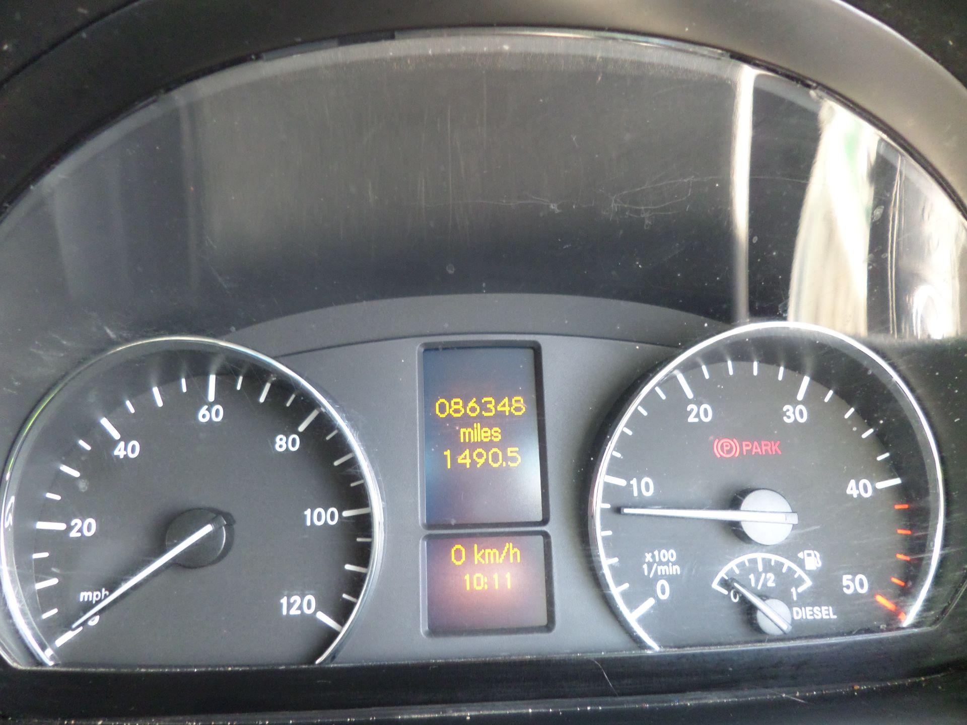 2016 Mercedes-Benz Sprinter 314 Luton Taillift Euro 6 (KS66WHD) Image 12