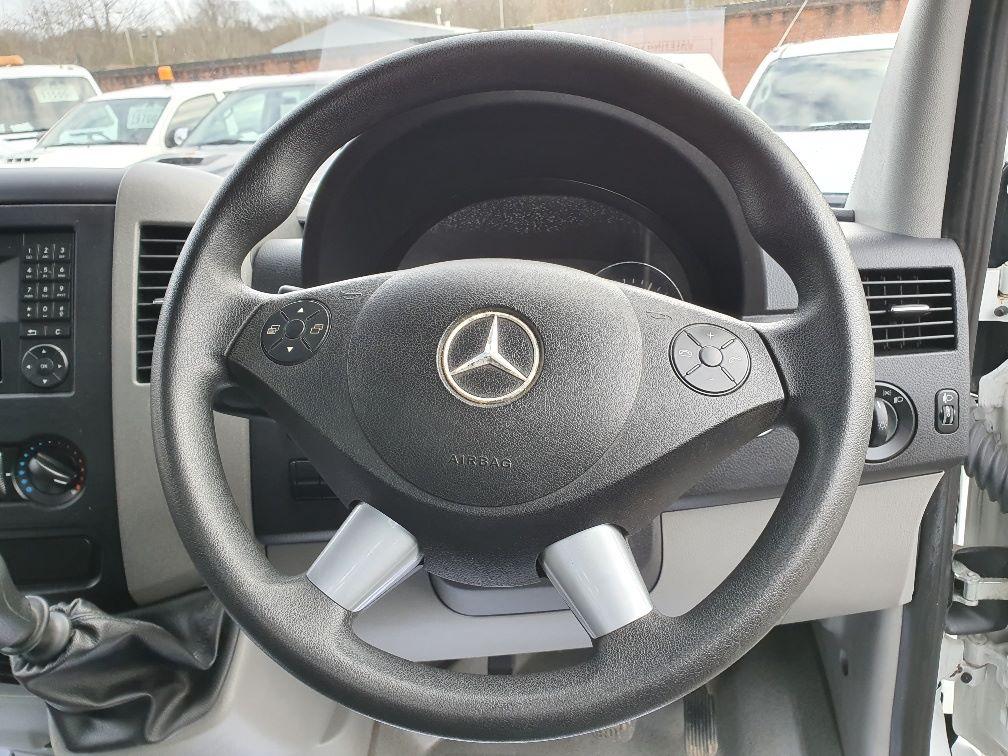2016 Mercedes-Benz Sprinter 314 S/CAB 2.2CC L3 140PS EURO 5 (KS66WHT) Image 9