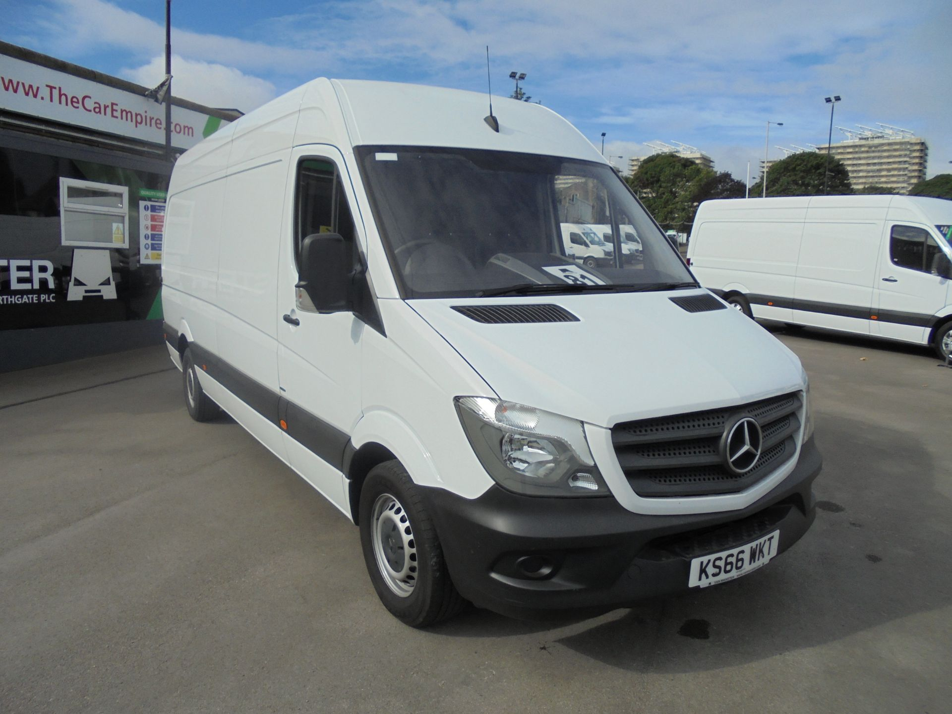 2016 Mercedes-Benz Sprinter 3.5T High Roof Van (KS66WKT) Image 1