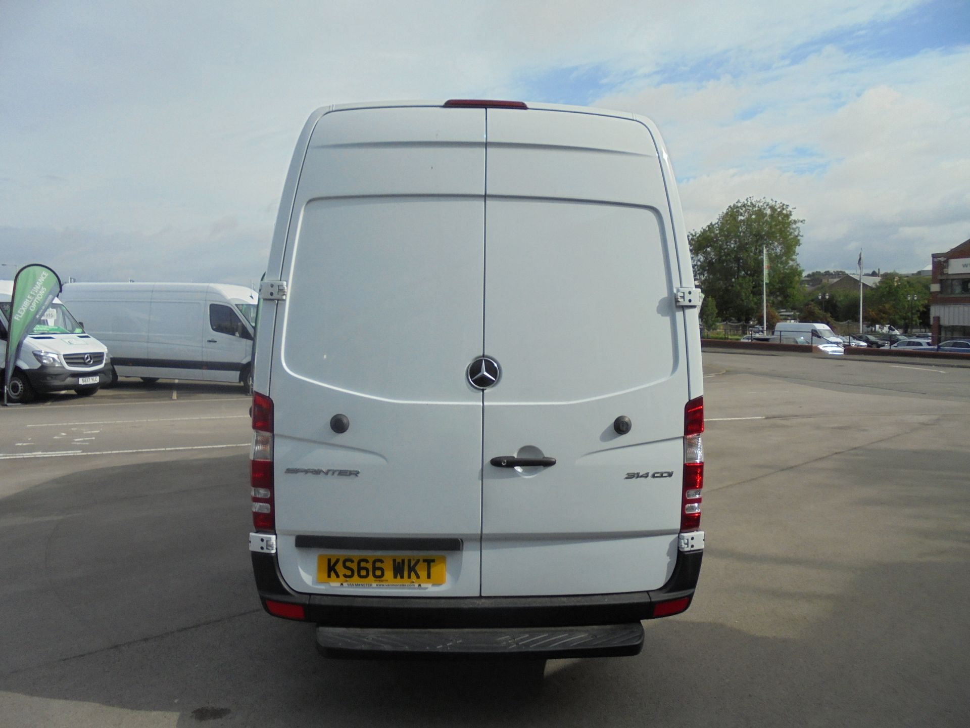 2016 Mercedes-Benz Sprinter 3.5T High Roof Van (KS66WKT) Image 6