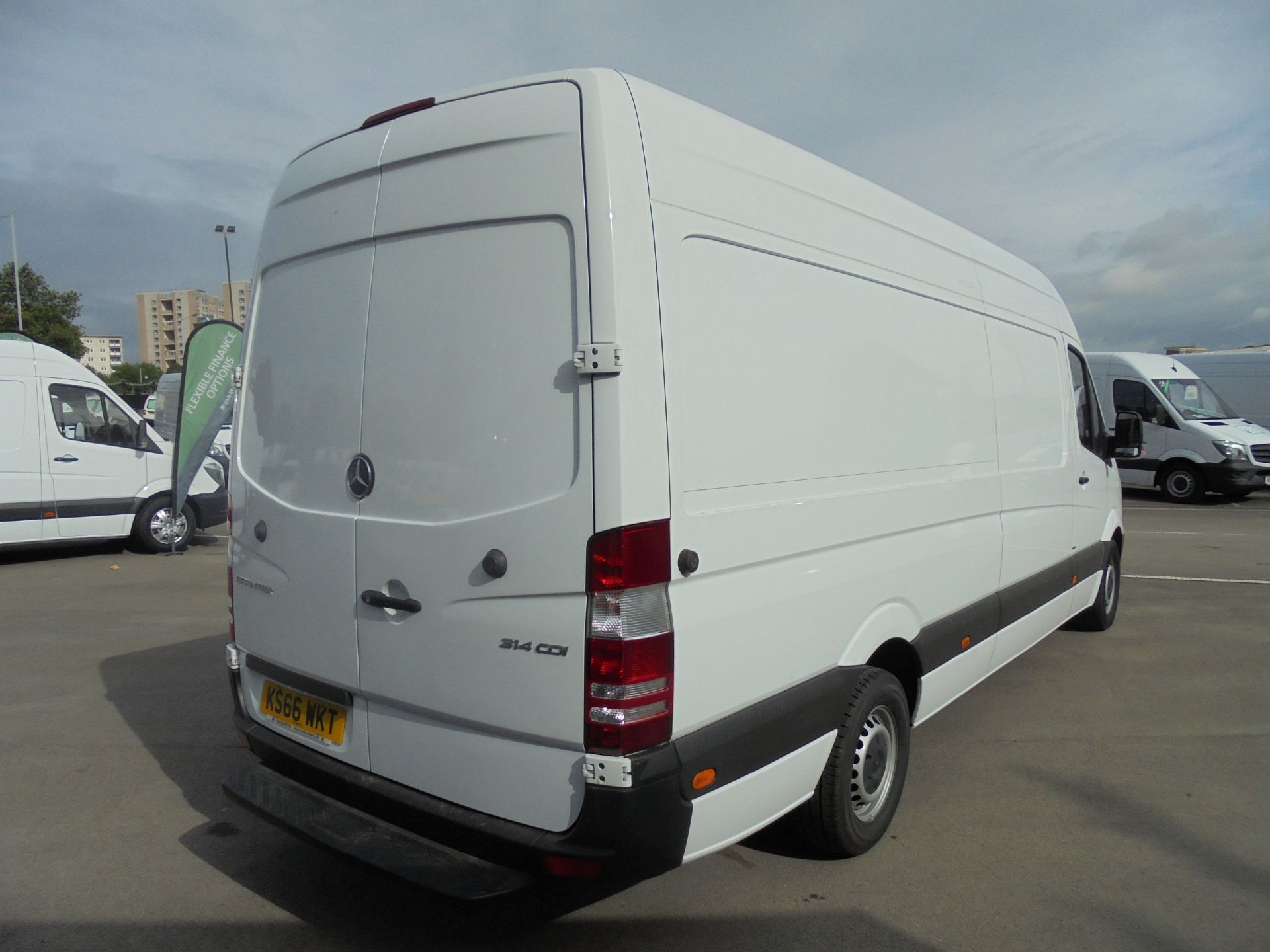 2016 Mercedes-Benz Sprinter 3.5T High Roof Van (KS66WKT) Image 7
