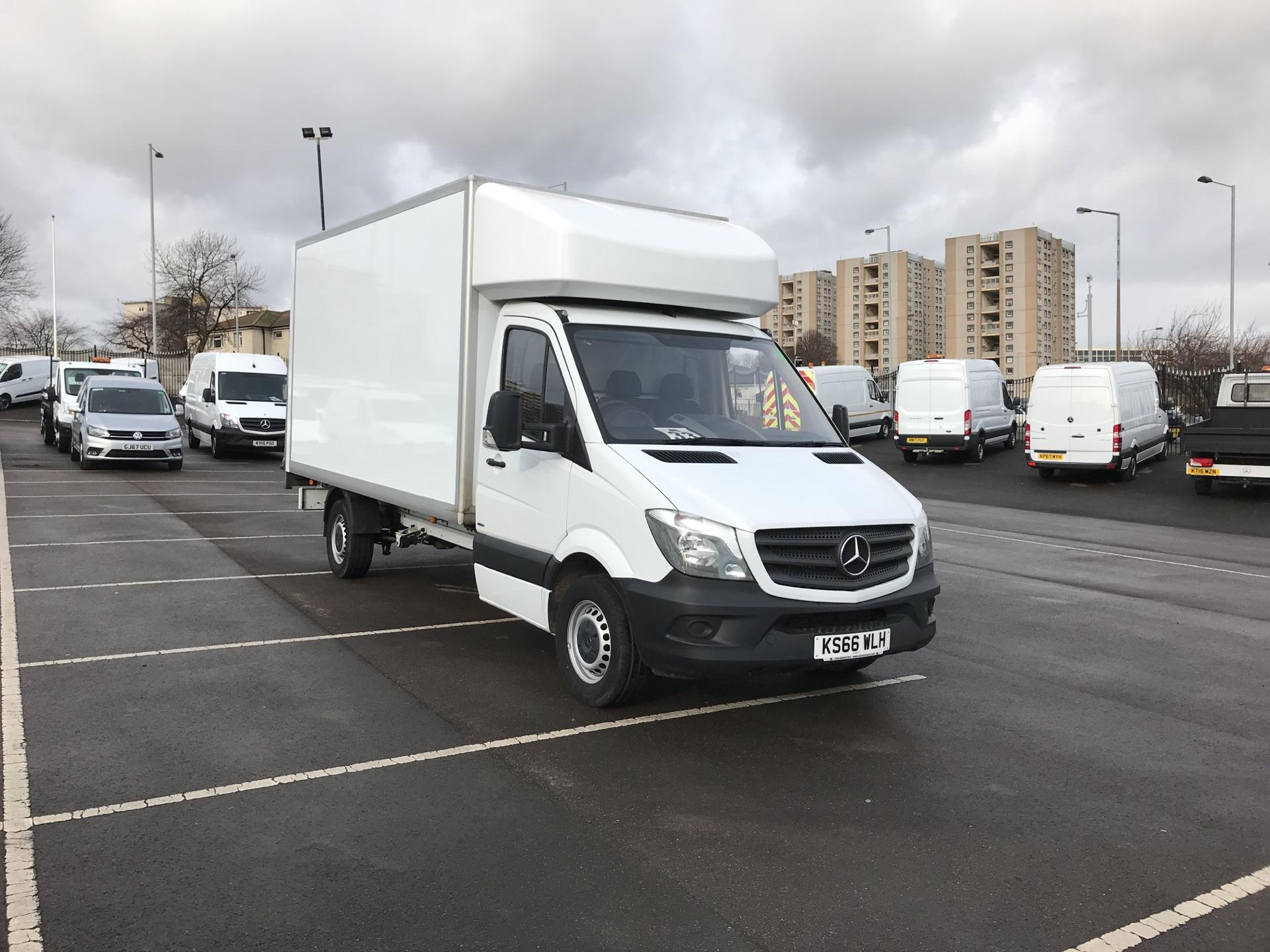 2016 Mercedes-Benz Sprinter 314CDI LWB H/R LUTON BOX VAN WITH TAIL LIFT EURO 6 (KS66WLH)
