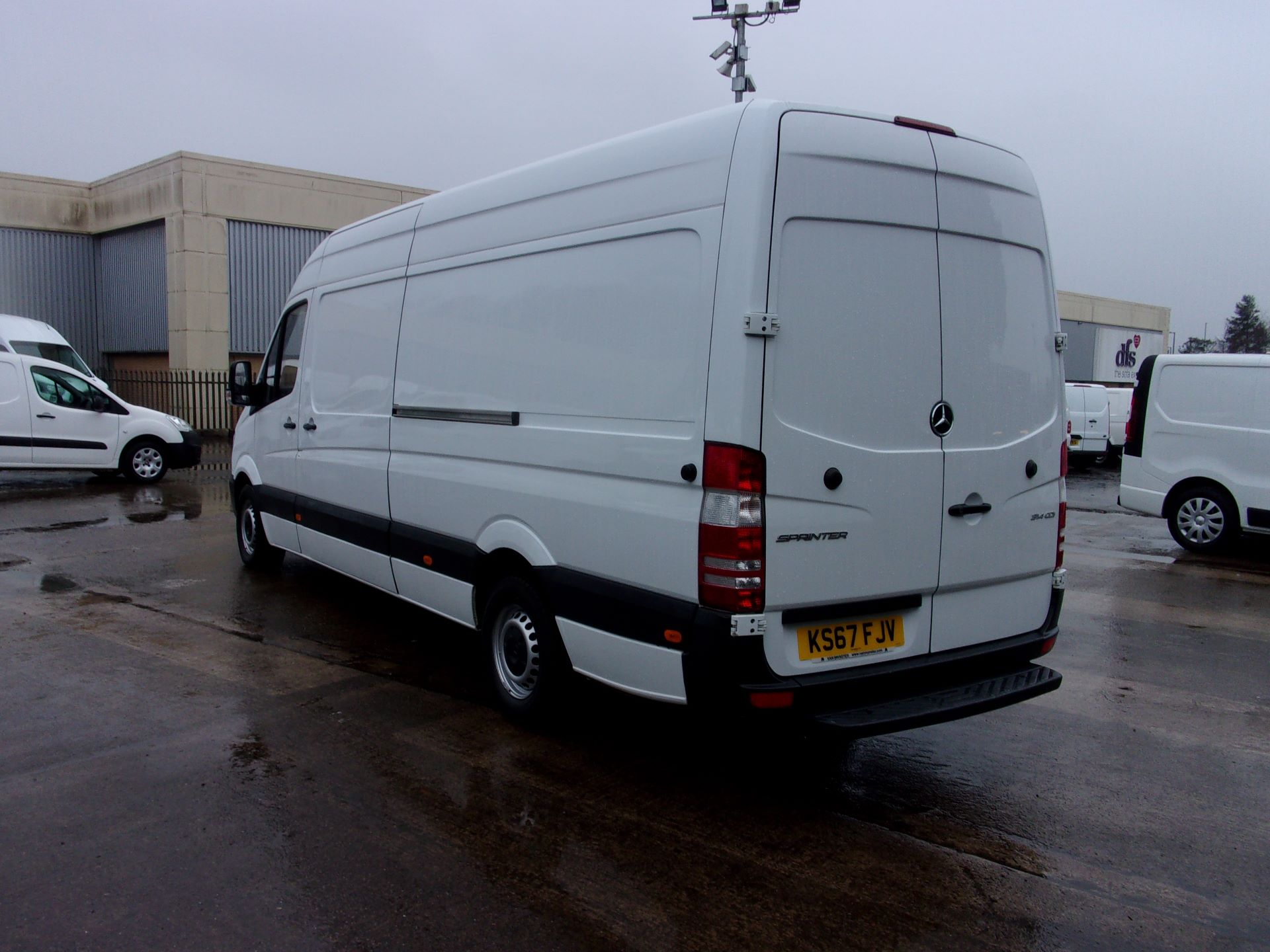 2017 Mercedes-Benz Sprinter 314 CDI LWB HIGH ROOF VAN EURO 6 (KS67FJV) Thumbnail 12