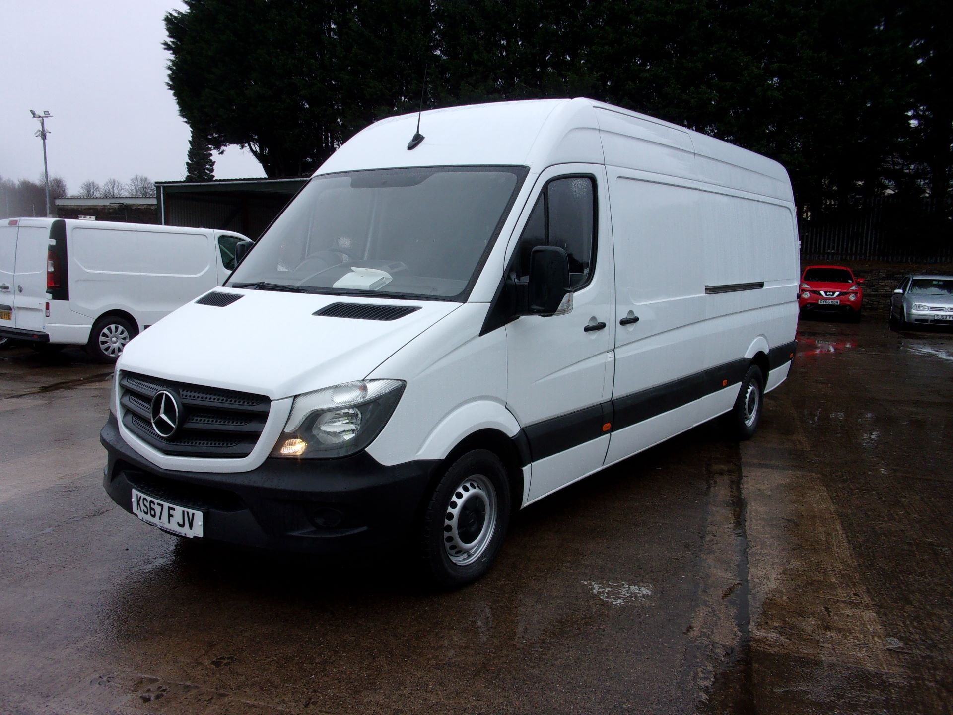 2017 Mercedes-Benz Sprinter 314 CDI LWB HIGH ROOF VAN EURO 6 (KS67FJV) Thumbnail 15
