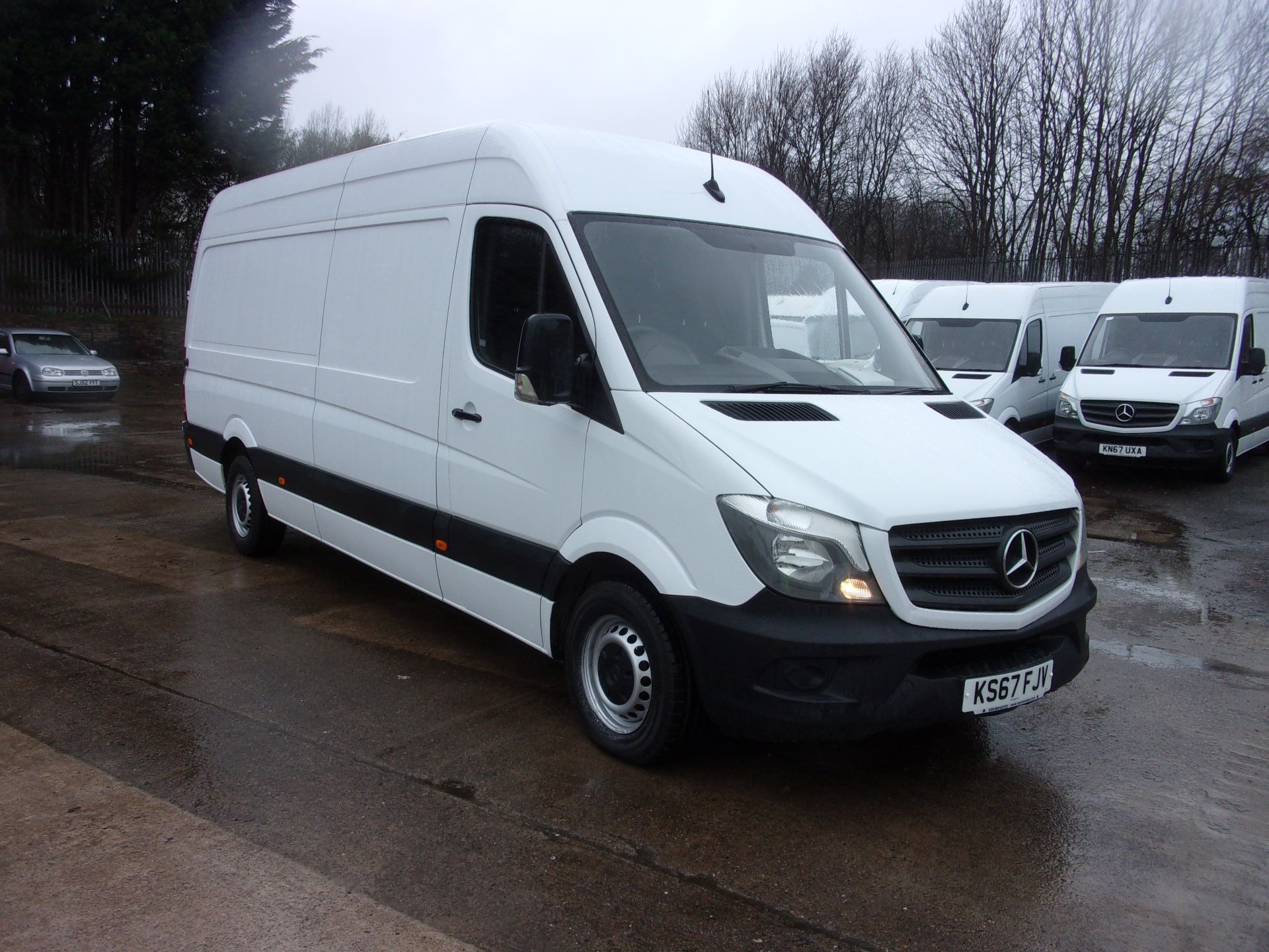 2017 Mercedes-Benz Sprinter 314 CDI LWB HIGH ROOF VAN EURO 6 (KS67FJV) Thumbnail 1