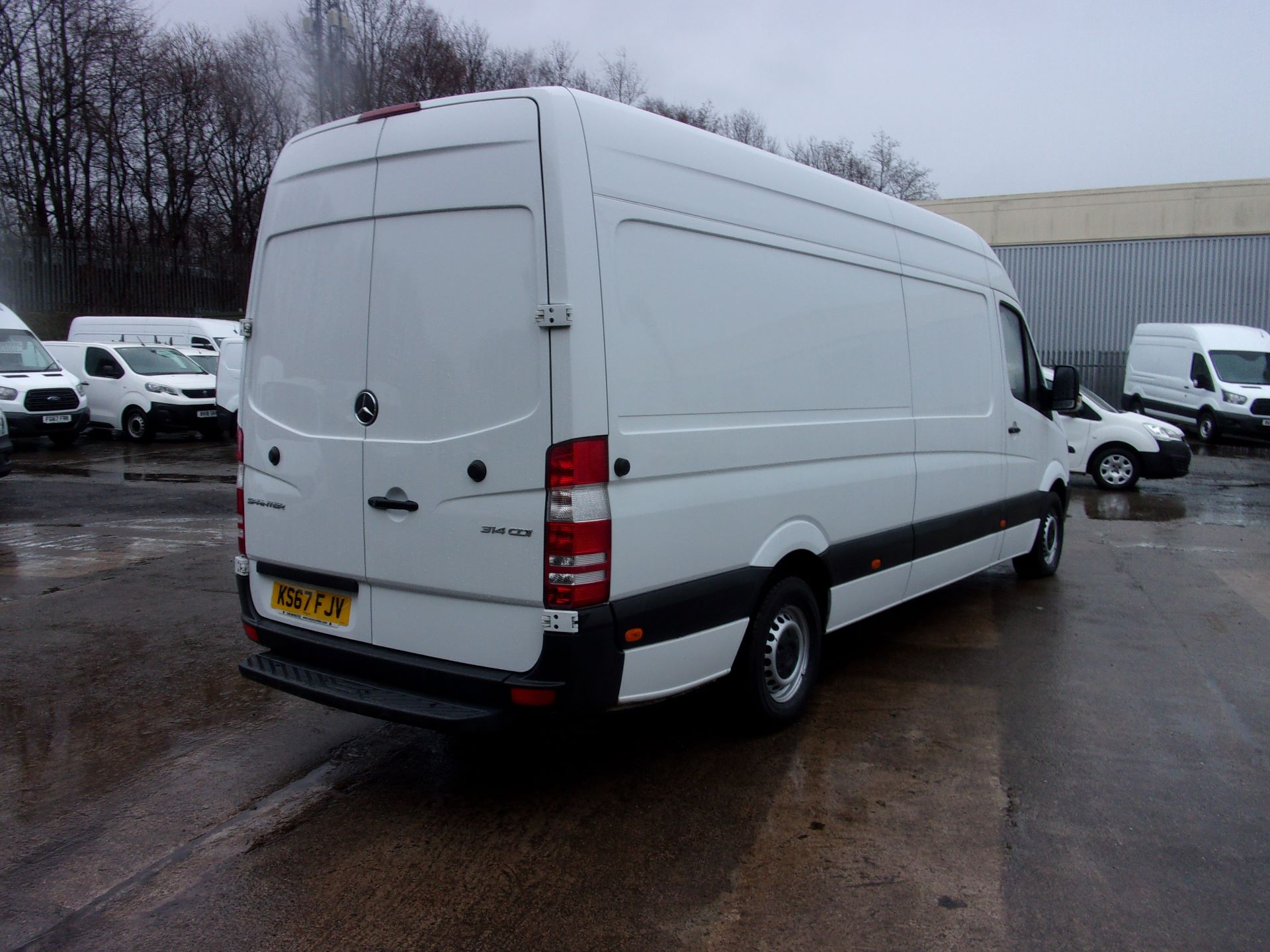 2017 Mercedes-Benz Sprinter 314 CDI LWB HIGH ROOF VAN EURO 6 (KS67FJV) Image 10