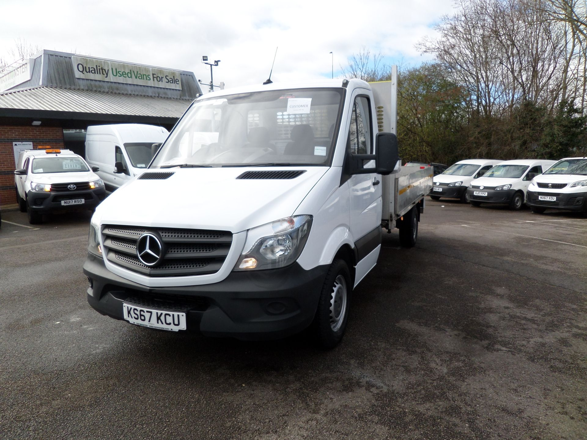 2018 Mercedes-Benz Sprinter 314 CDI Single Cab Dropside Euro 6 (KS67KCU) Image 8