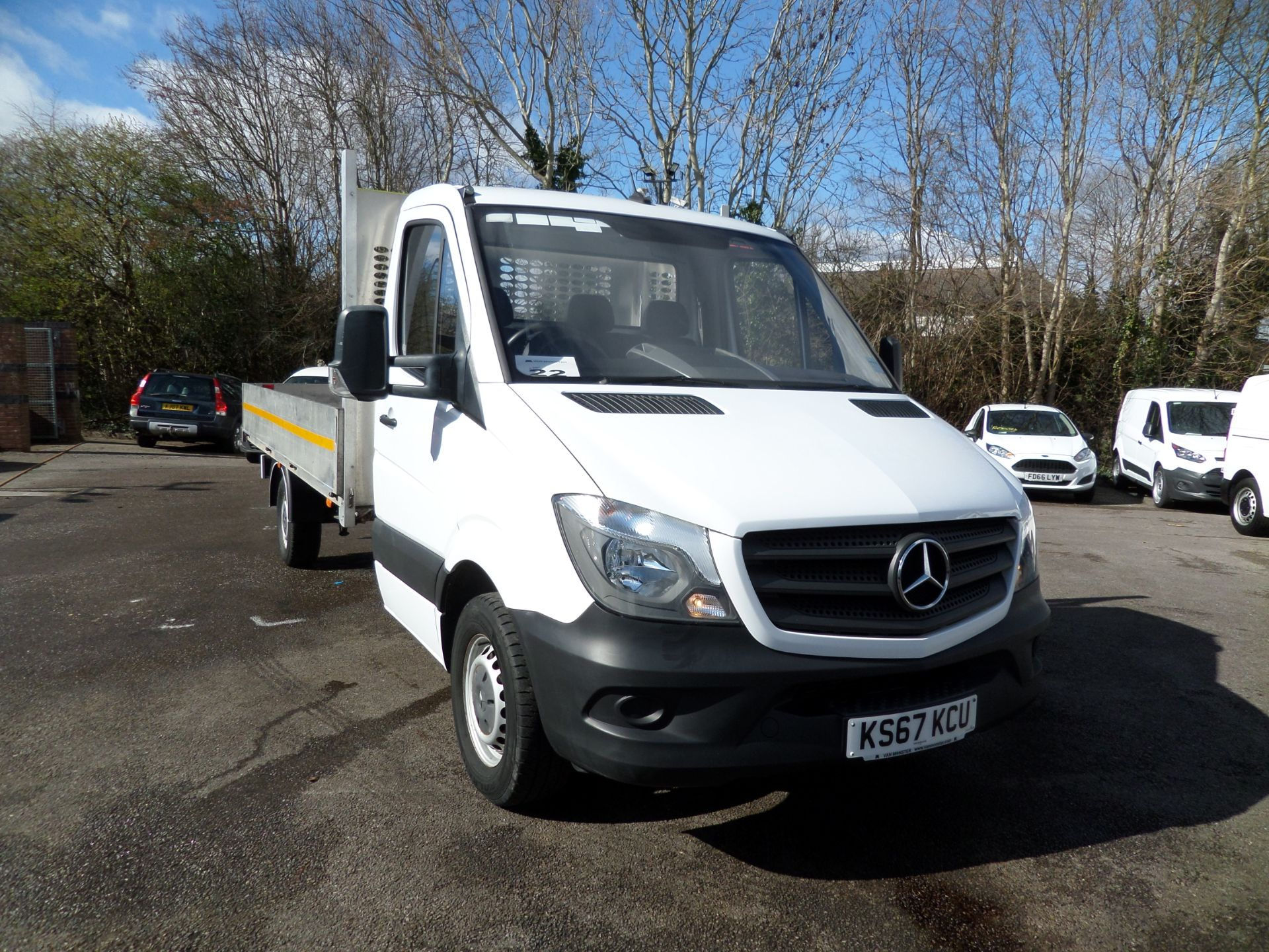 2018 Mercedes-Benz Sprinter 314 CDI Single Cab Dropside Euro 6 (KS67KCU) Image 1