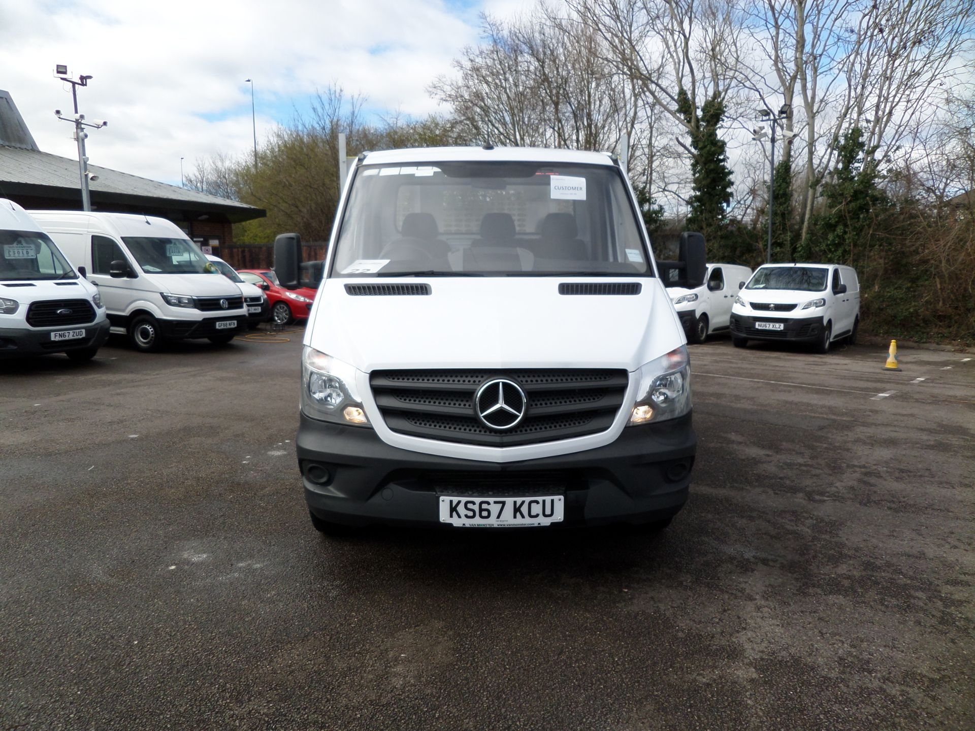 2018 Mercedes-Benz Sprinter 314 CDI Single Cab Dropside Euro 6 (KS67KCU) Image 9